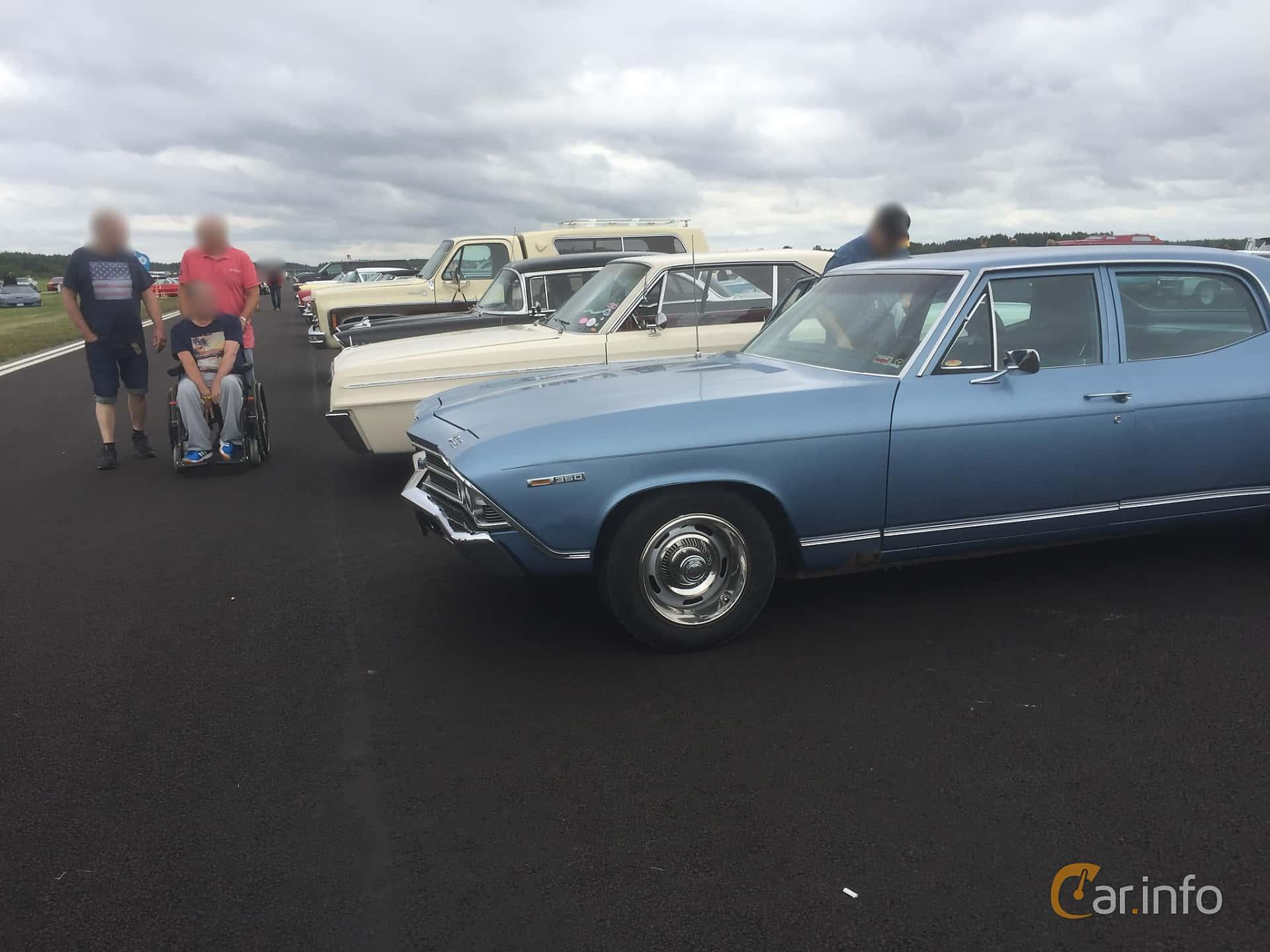 Chevrolet Chevelle Malibu Sedan 5.7 V8 Hydra-Matic, 279hp, 1969