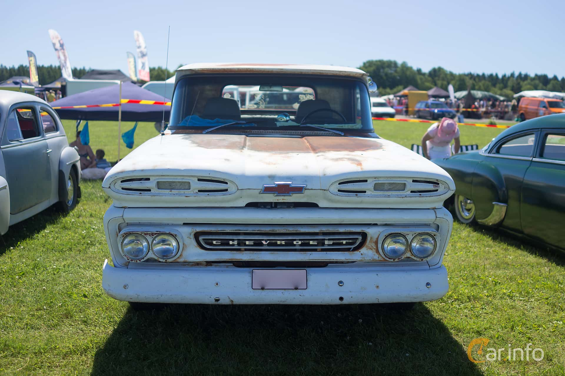 2 Images Of Chevrolet Apache C10 Pickup 46 V8 Powerglide 162hp 1961 Chevy Truck Front 162ps At Power Big