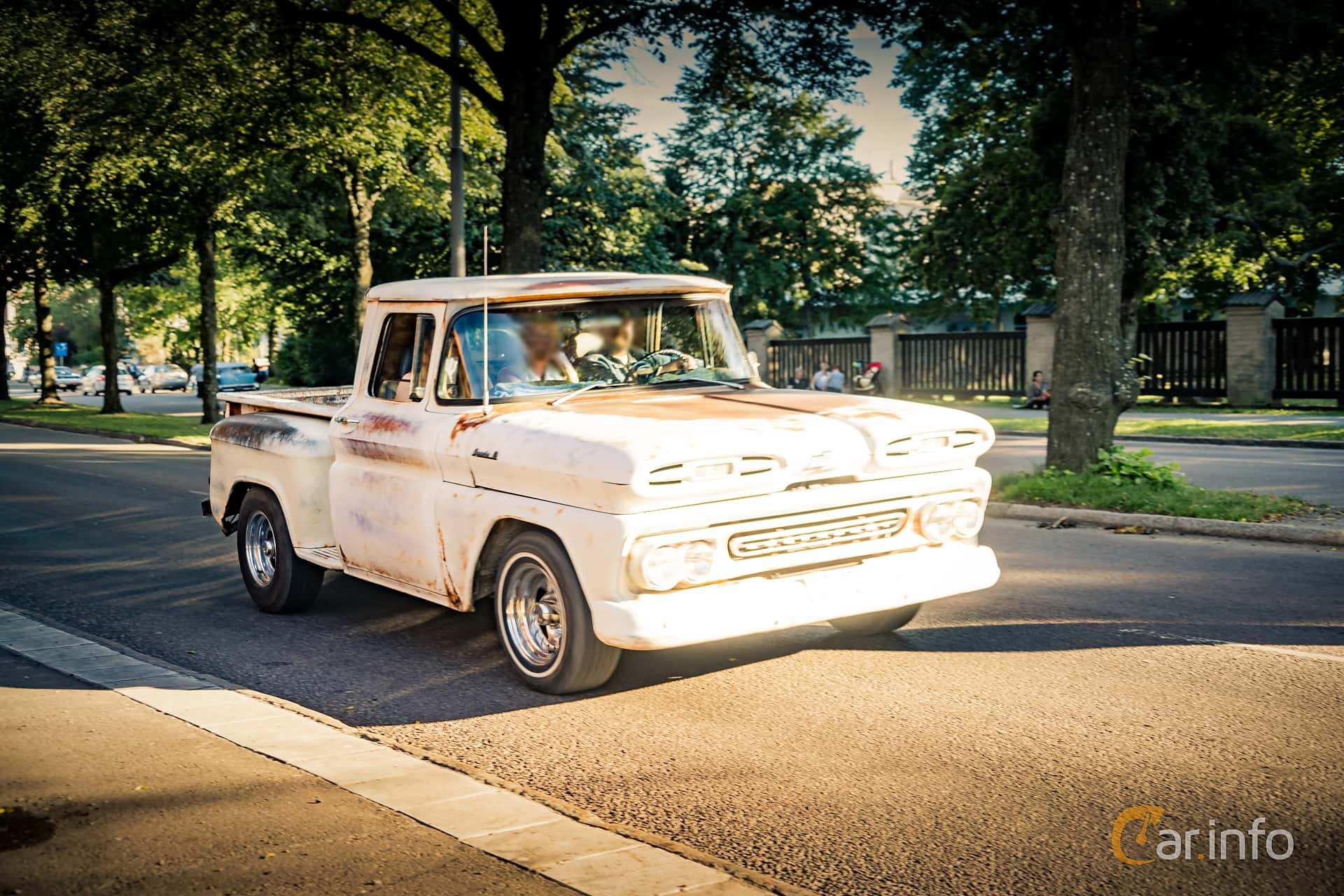 1 Images Of Chevrolet Apache C10 Pickup 46 V8 Powerglide 162hp 1961 Chevy Truck Front Side 162ps At