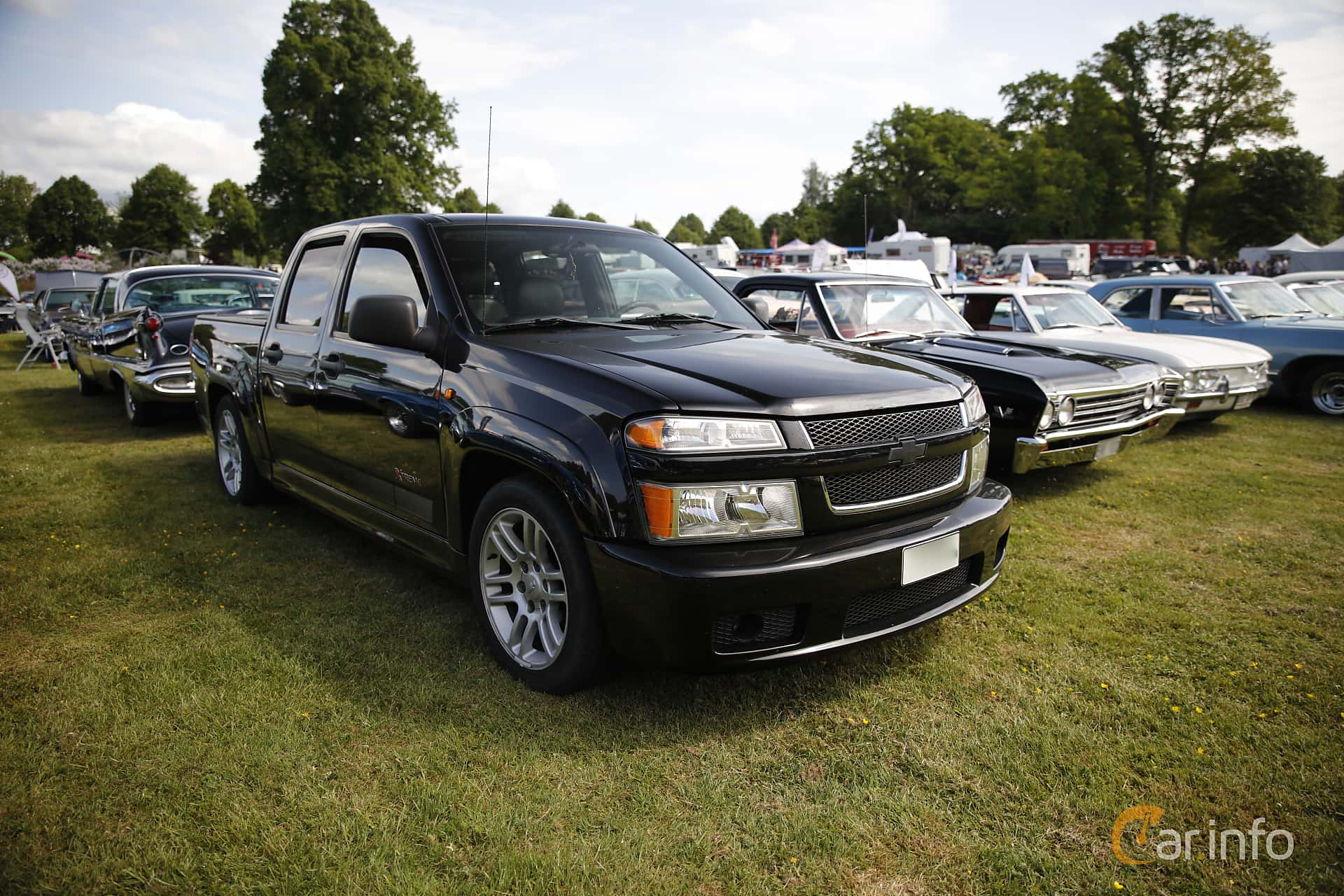 Chevrolet Colorado Crew Cab (NA) 3.5 Automatic, 223hp, 2005 at Hässleholm Power Start of Summer Meet 2016