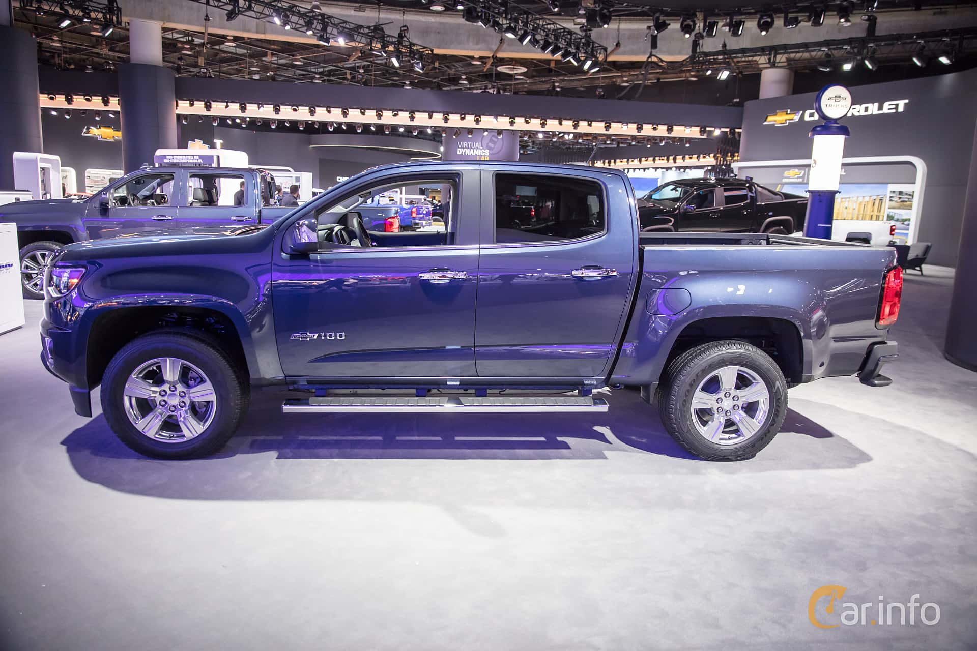 Chevrolet Colorado Crew Cab 3.6 V6 4WD Hydra-Matic, 313hp, 2018 at North American International Auto Show 2018