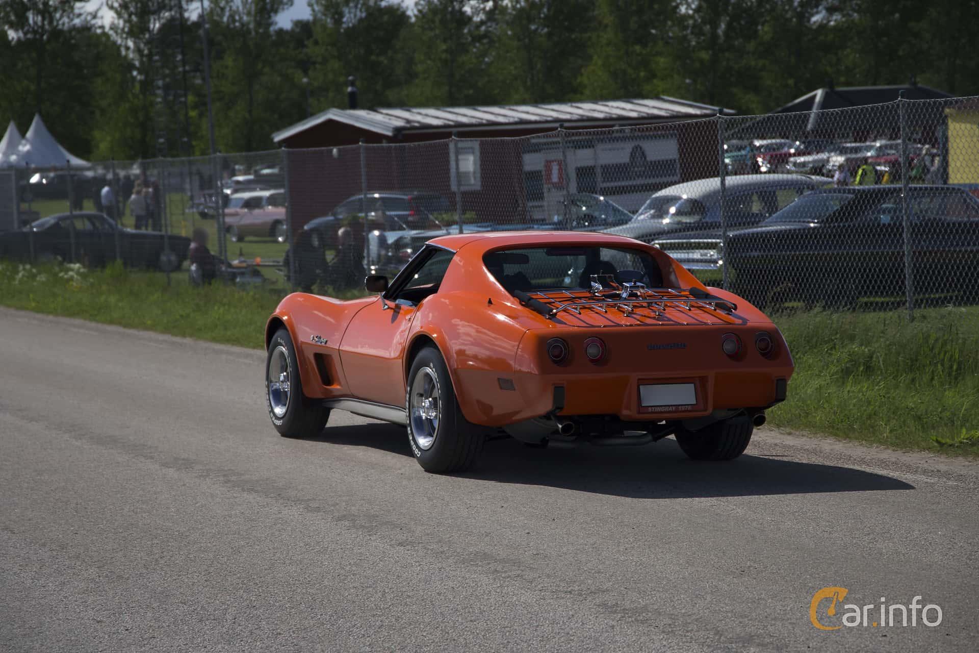 Chevrolet Corvette Stingray 5.7 V8 Automatic, 213hp, 1976 at Nostalgifestivalen i Vårgårda 2017