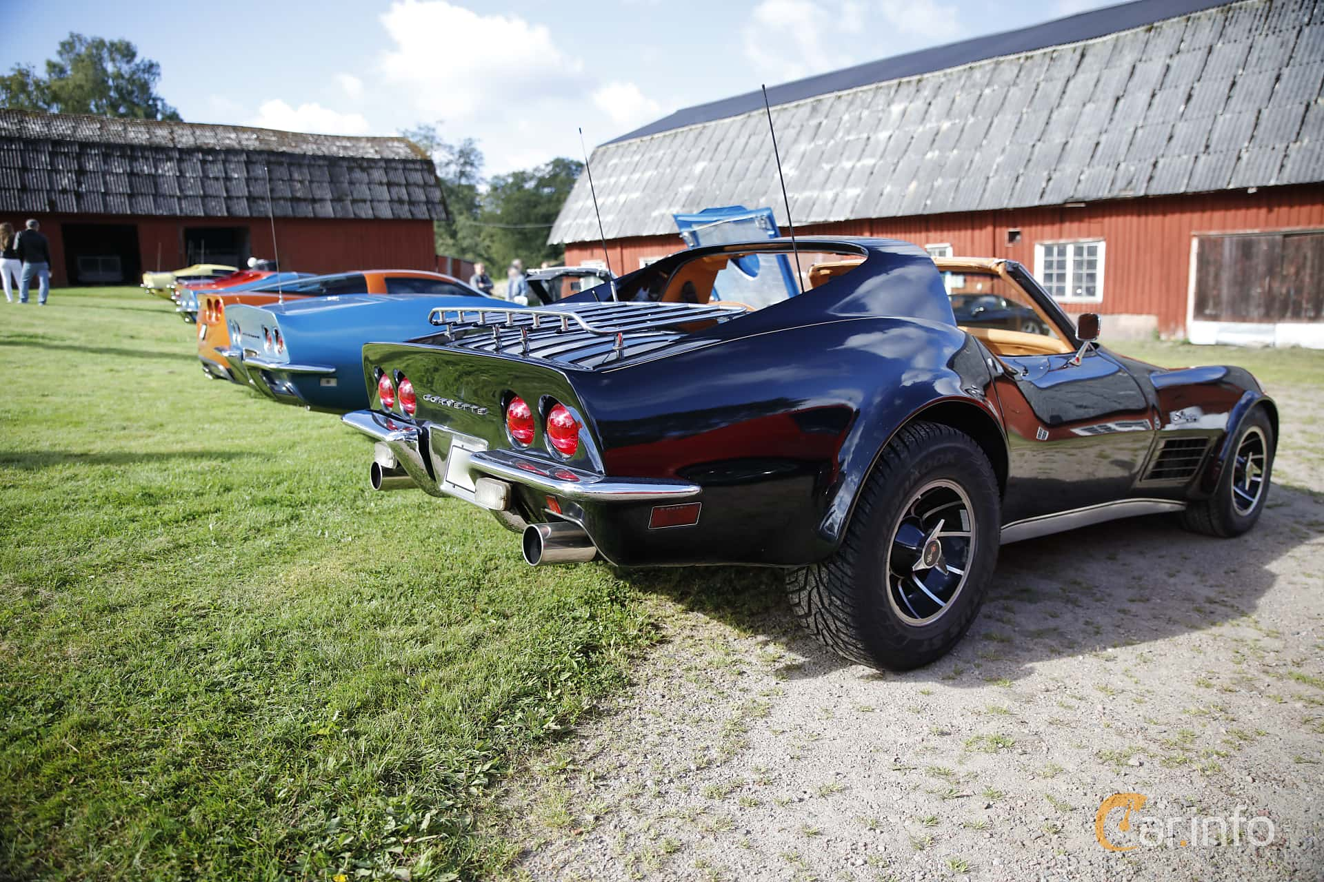 Chevrolet Corvette Stingray 5.7 V8 Automatic, 273hp, 1971 at Sportvagnsträffen 2016