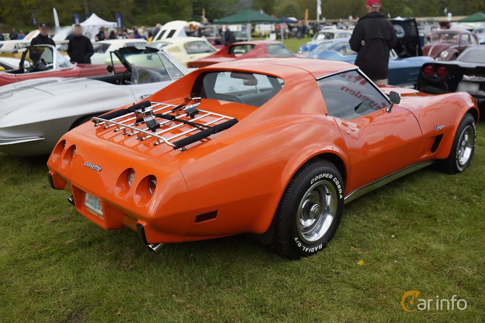 Chevrolet Corvette Stingray 5.7 V8 Automatic, 213hp, 1976 at Tjolöholm Classic Motor 2015