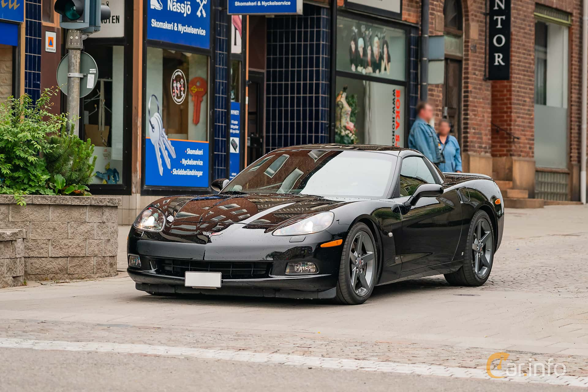 Chevrolet Corvette 6.0 V8 Automatic, 405hp, 2007 at Nässjö Cruising 2019