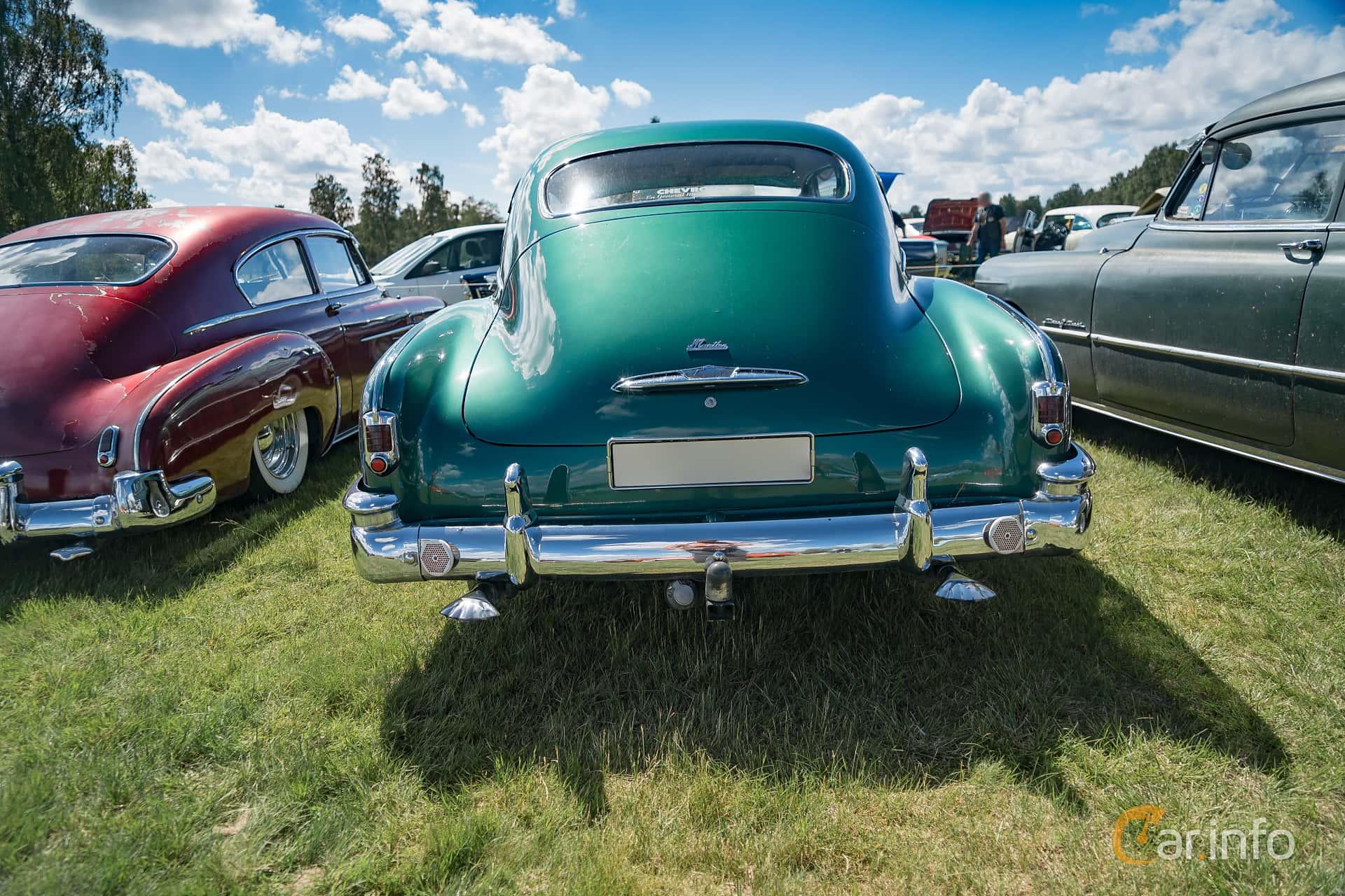 3 Images Of Chevrolet Fleetline Deluxe 2 Door Sedan 39 Powerglide 1951 Back 106ps At