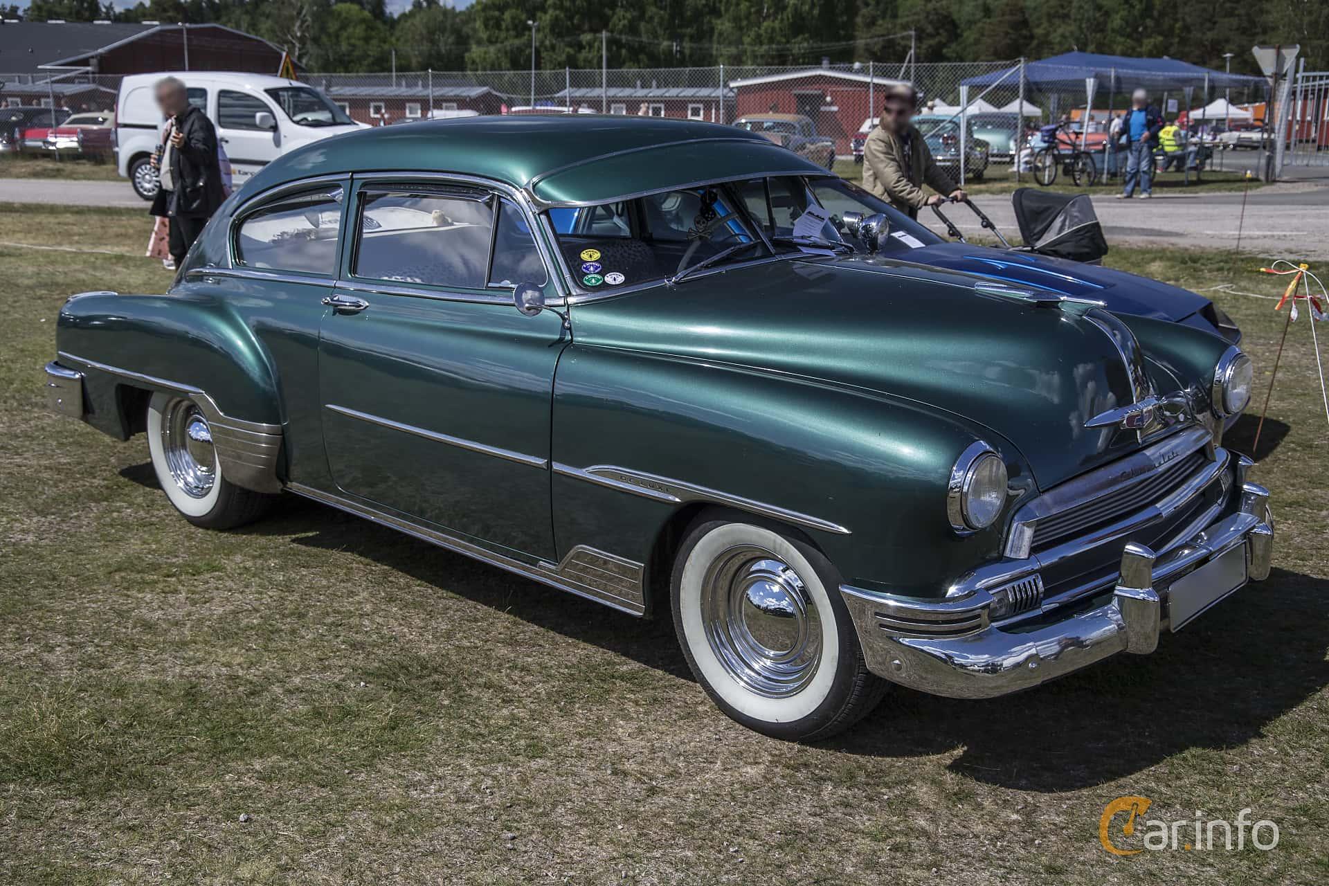 4 Images Of Chevrolet Fleetline Deluxe 2 Door Sedan 39 Powerglide 1951 Front Side 106ps