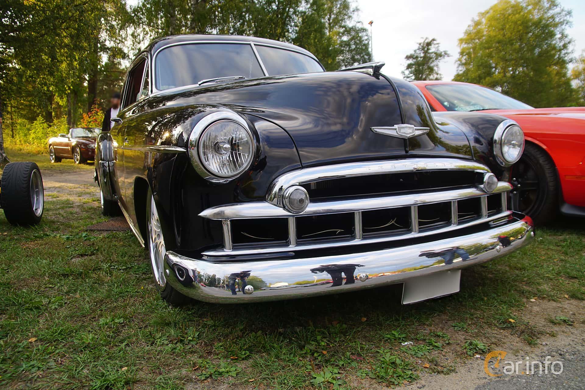 Chevrolet Fleetline Deluxe 2-door Sedan 3.5 Manual, 91hp, 1949 at Onsdagsträffar på Gammlia Umeå v.35 / 2018