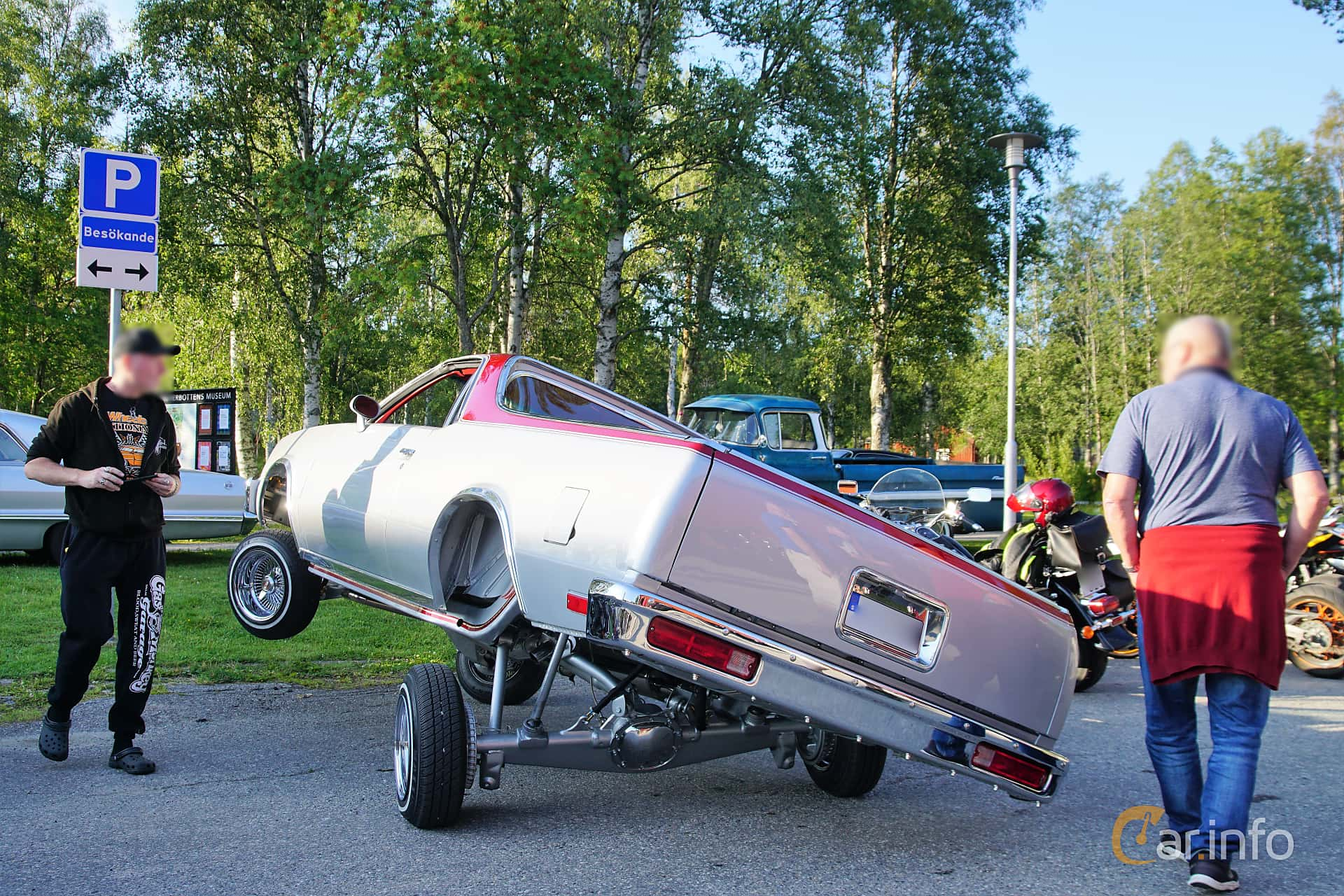 Chevrolet El Camino 5.0 V8 Hydra-Matic, 145hp, 1983 at Onsdagsträffar på Gammlia Umeå 2019 vecka 28