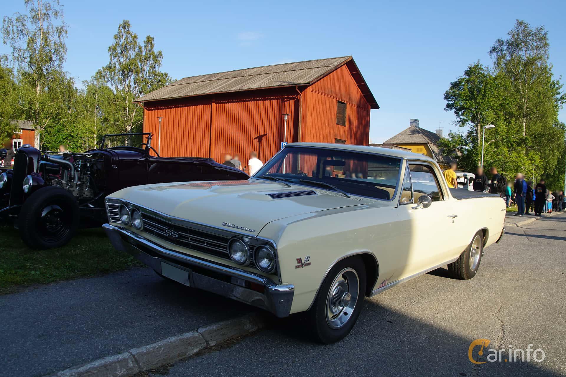 Chevrolet El Camino 6.5 V8 Powerglide, 329hp, 1967 at Onsdagsträffar på Gammlia Umeå 2019 vecka 28