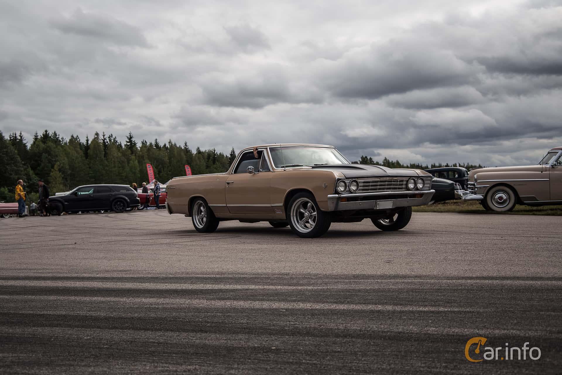 Chevrolet El Camino 6.5 V8 Powerglide, 329hp, 1967 at Power End of Summer Meet Emmaboda 2017