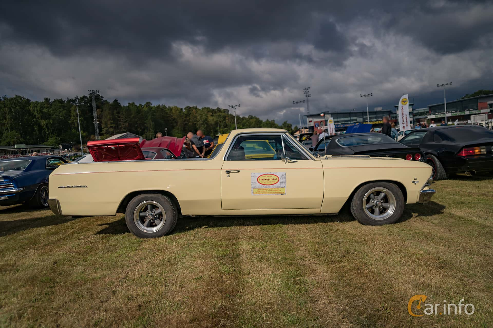 Chevrolet El Camino 6.5 V8 Manual, 329hp, 1966 at Wheels Nationals Stockholm 2017