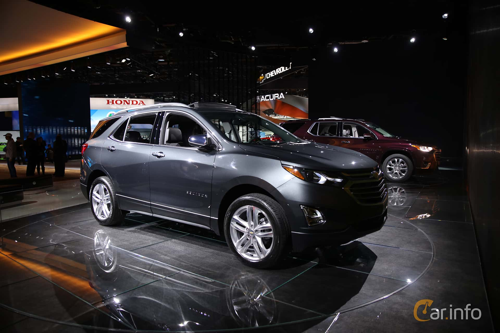 Front/Side  of Chevrolet Equinox 2.4 AWD Automatic, 185ps, 2017 at North American International Auto Show 2017
