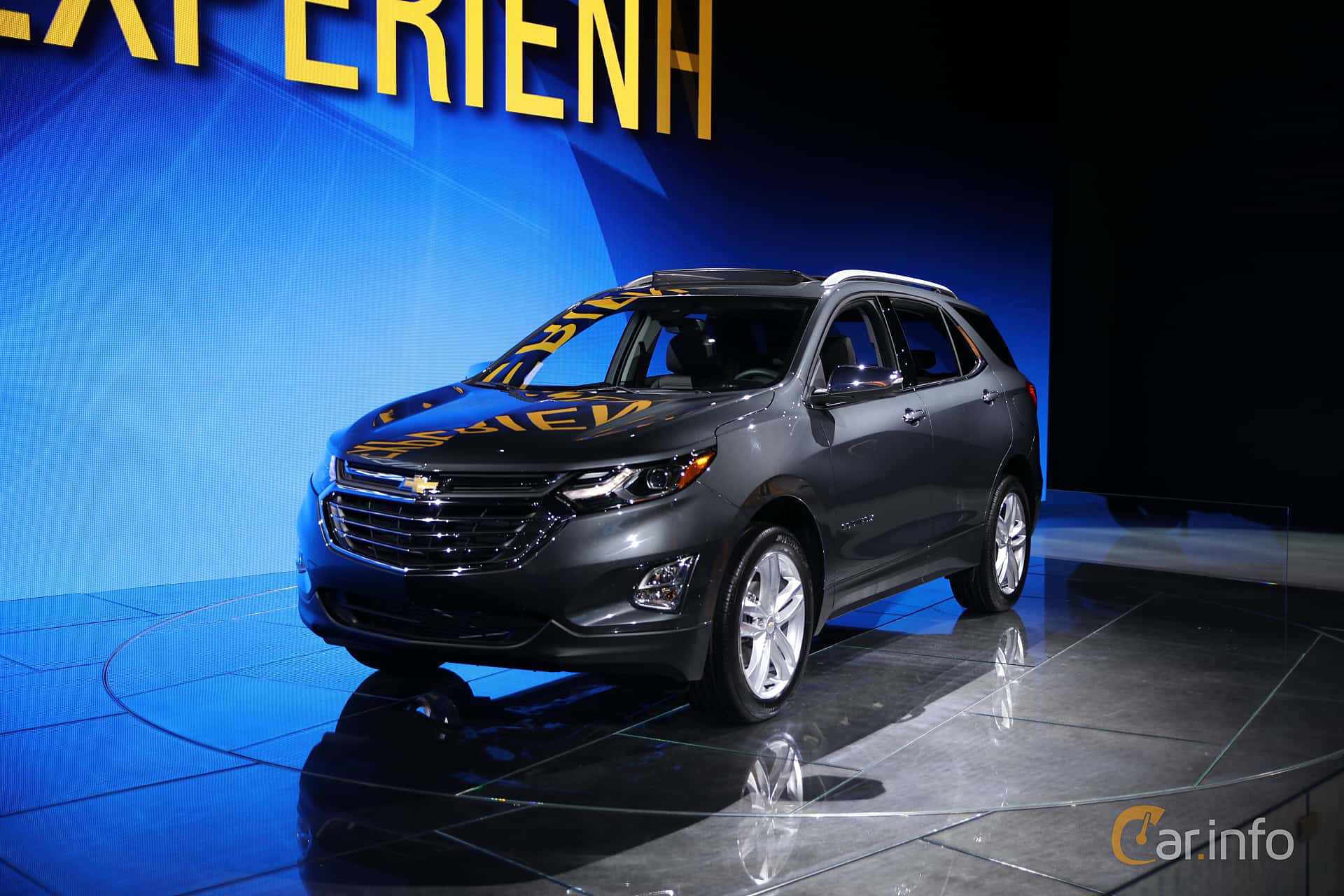 Front/Side  of Chevrolet Equinox 2018 at North American International Auto Show 2017