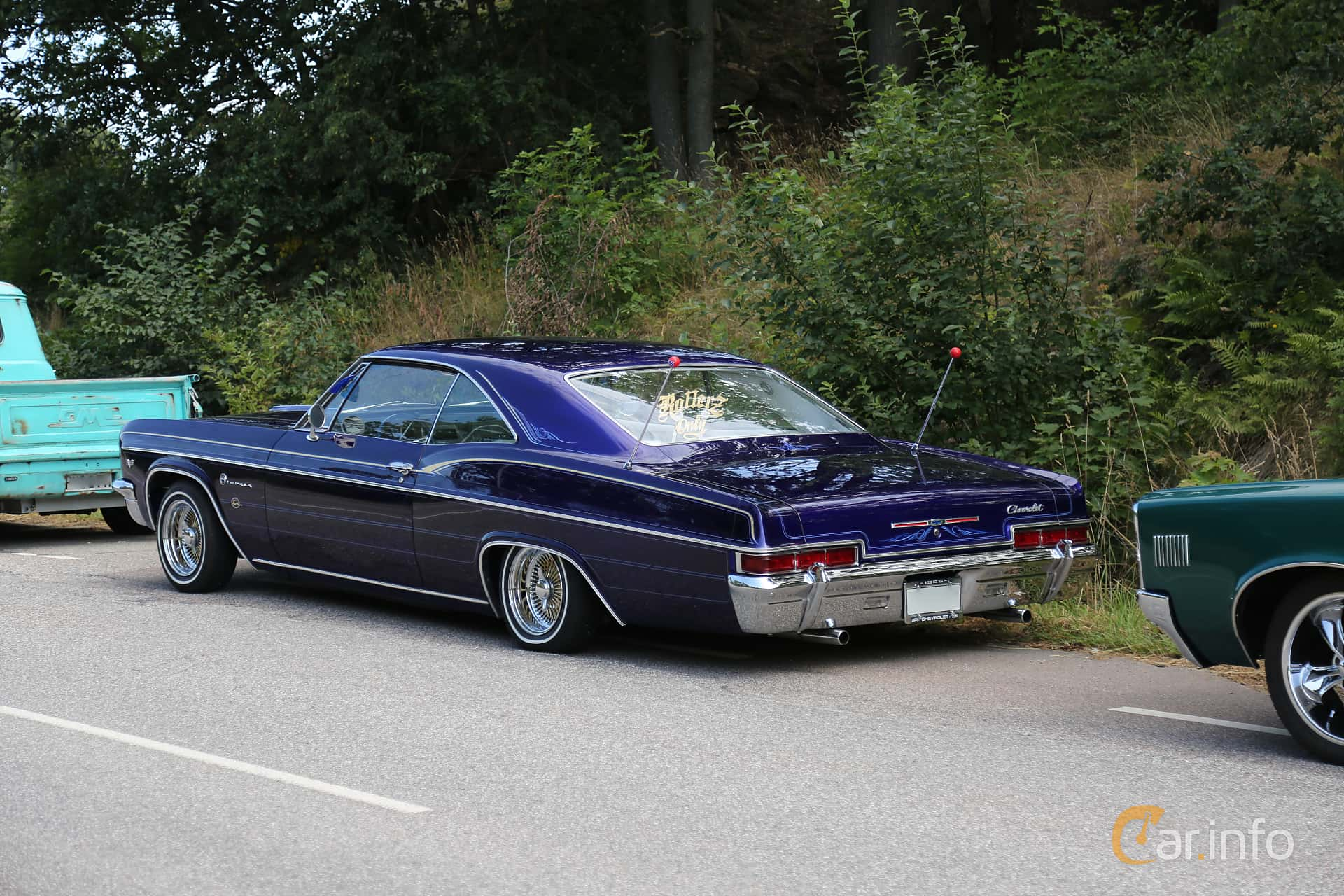 Chevrolet Impala Sport Coupé 4.6 V8 Manual, 198hp, 1966 at A-bombers - Old Style Weekend Backamo 2019