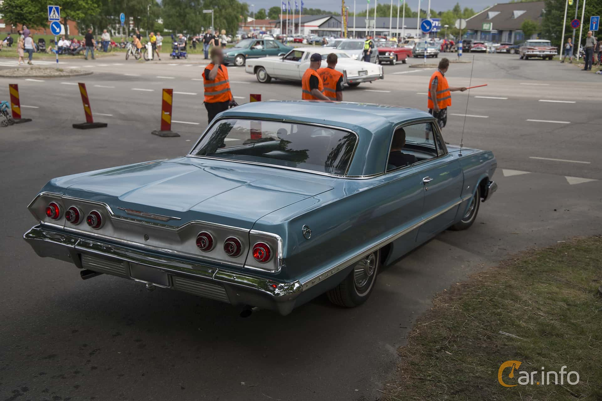 Chevrolet Impala Sport Coupé 4.6 V8 Powerglide, 198hp, 1963 at Hässleholm Power Start of Summer Meet 2016