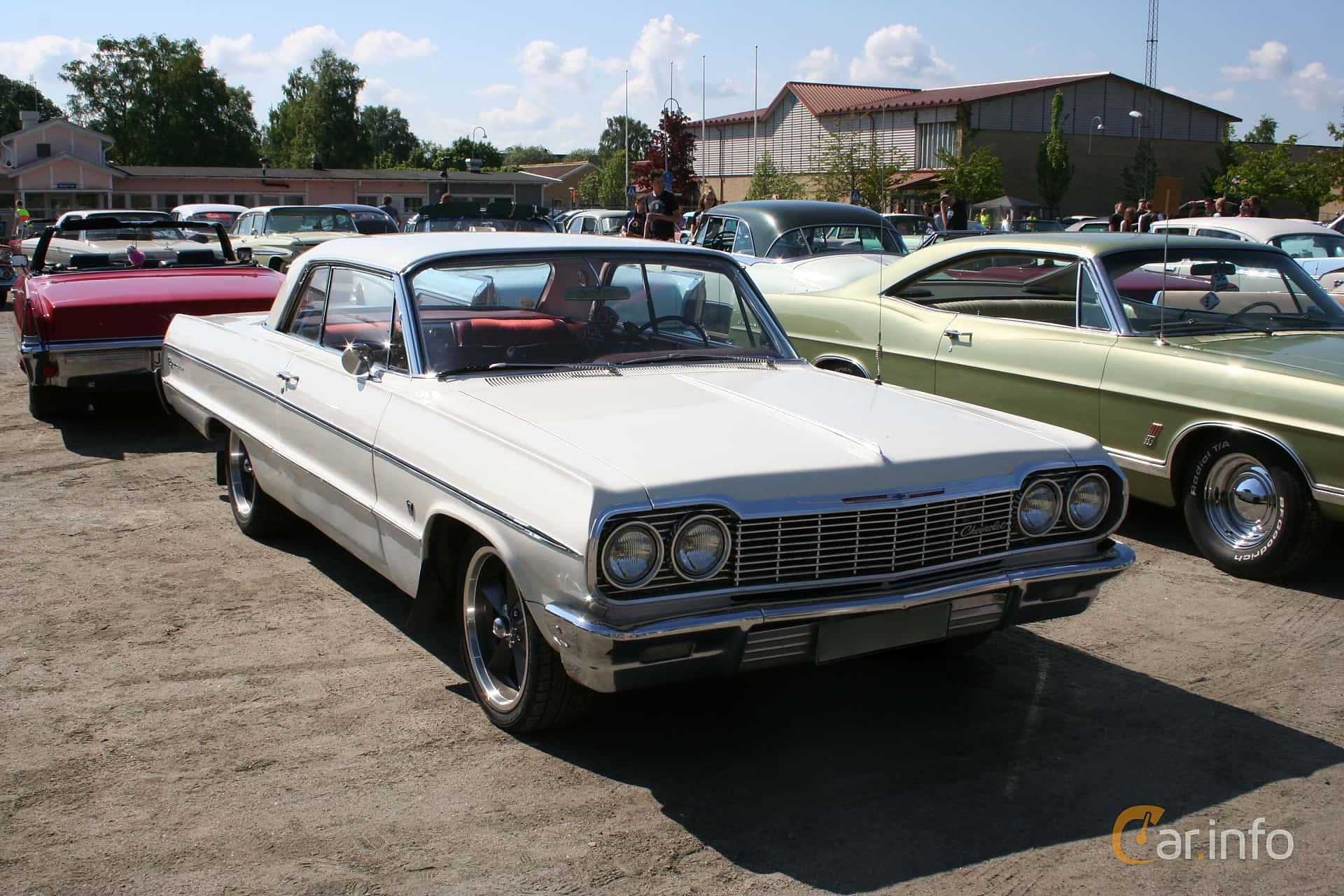 1 images of Chevrolet Impala Sport Coupé 4 6 V8 Manual 198hp 1964