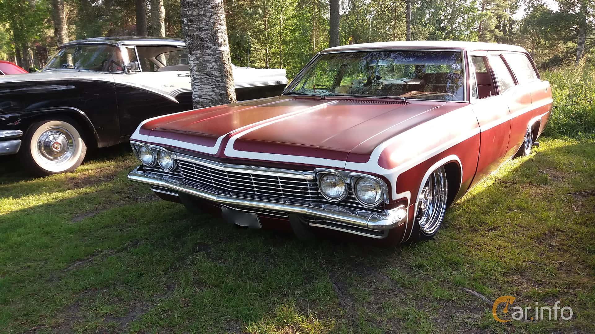 Chevrolet Impala 2-seat Station Wagon 4.6 V8 Powerglide, 198hp, 1965 at Onsdagsträffar på Gammlia Umeå 2019 vecka 28