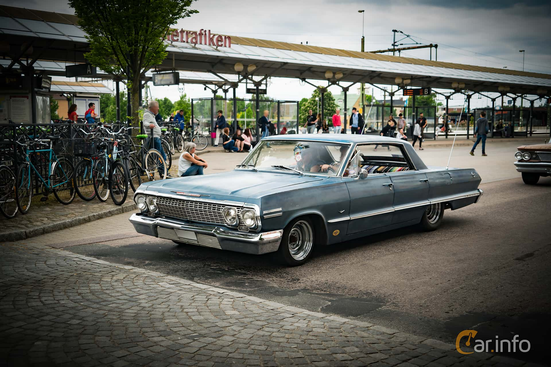 Chevrolet Impala Sport Sedan 4.6 V8 Powerglide, 198hp, 1963 at Hässleholm Power Start of Summer Meet 2016