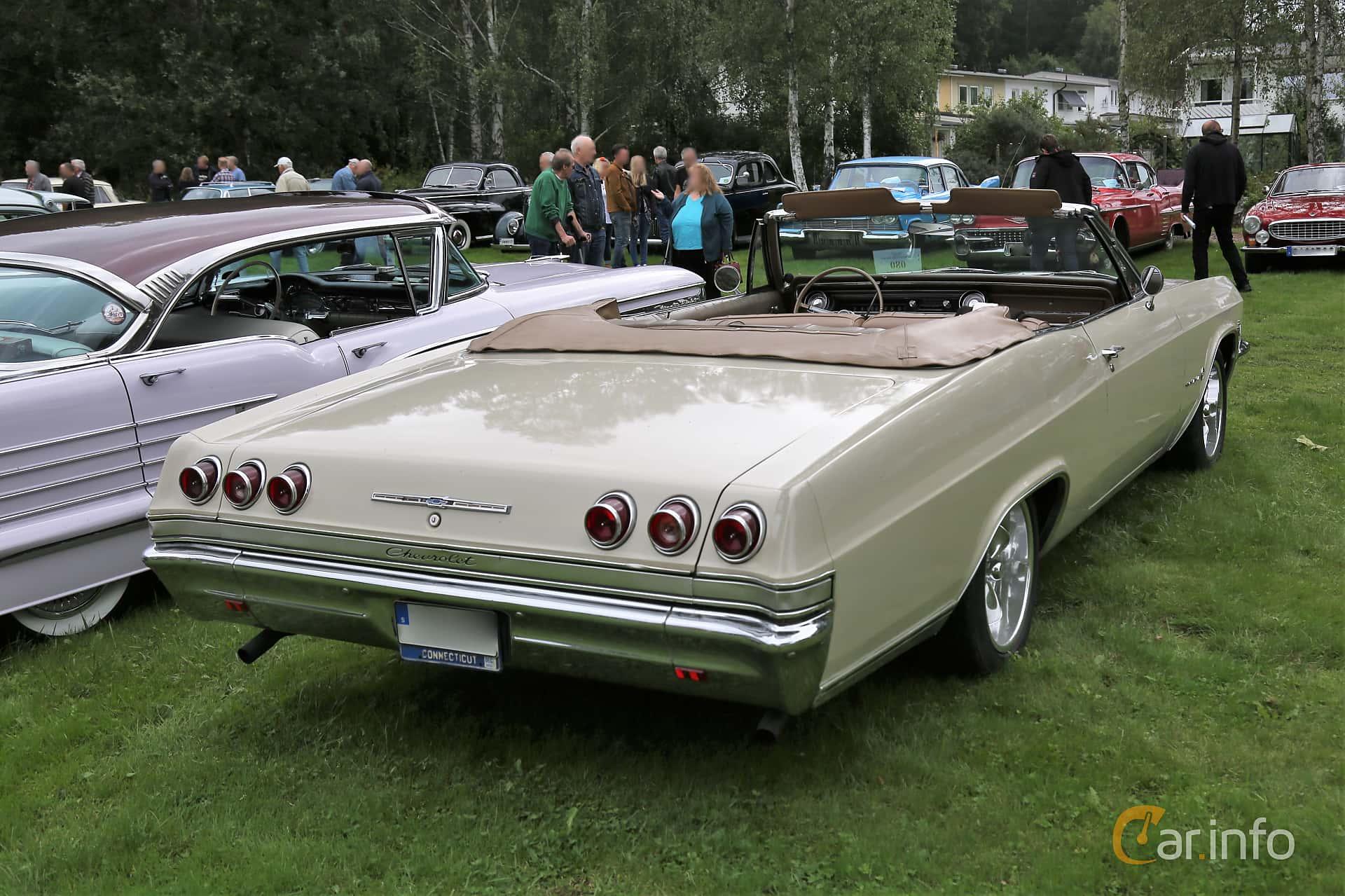 Chevrolet Impala Convertible 4.6 V8 Powerglide, 198hp, 1965 at Lödöse motornostalgiska dag 2019