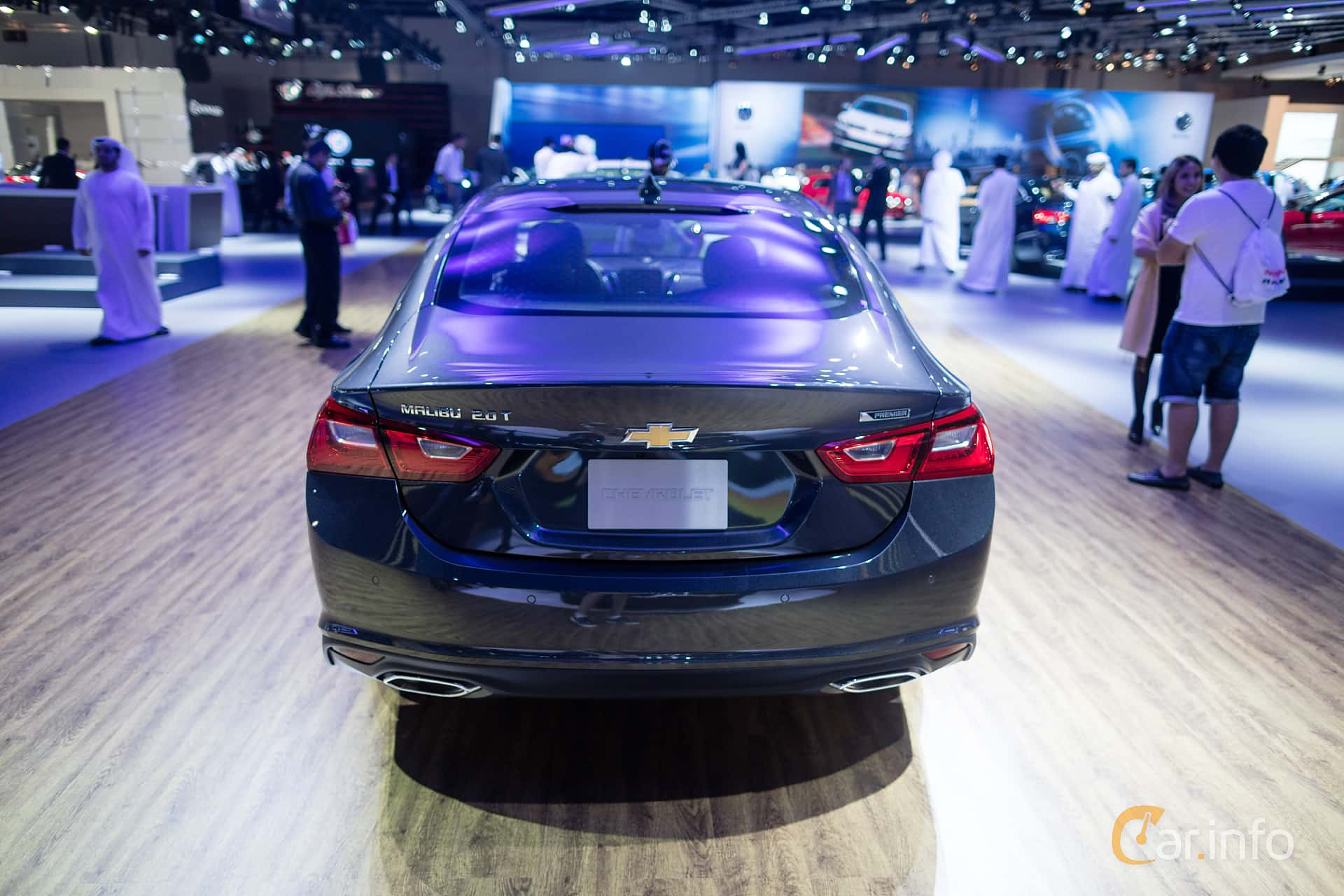 Chevrolet Malibu 2.0 Automatic, 253hp, 2016 at Dubai Motor Show 2015