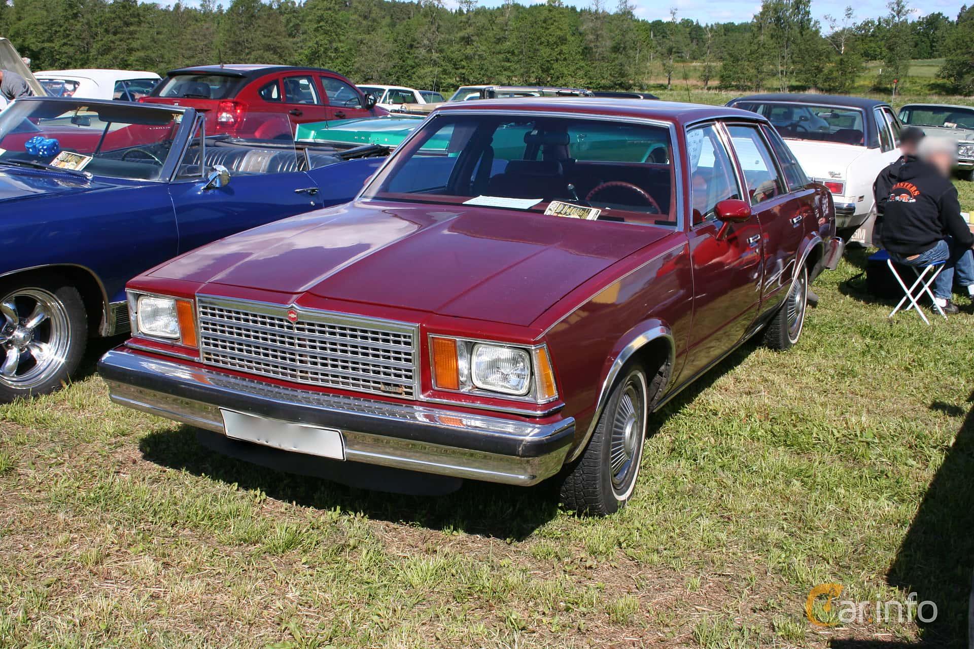 Chevrolet Malibu 5.0 V8 Automatic, 162hp, 1979 at Power America Fest, Nossebro 2012