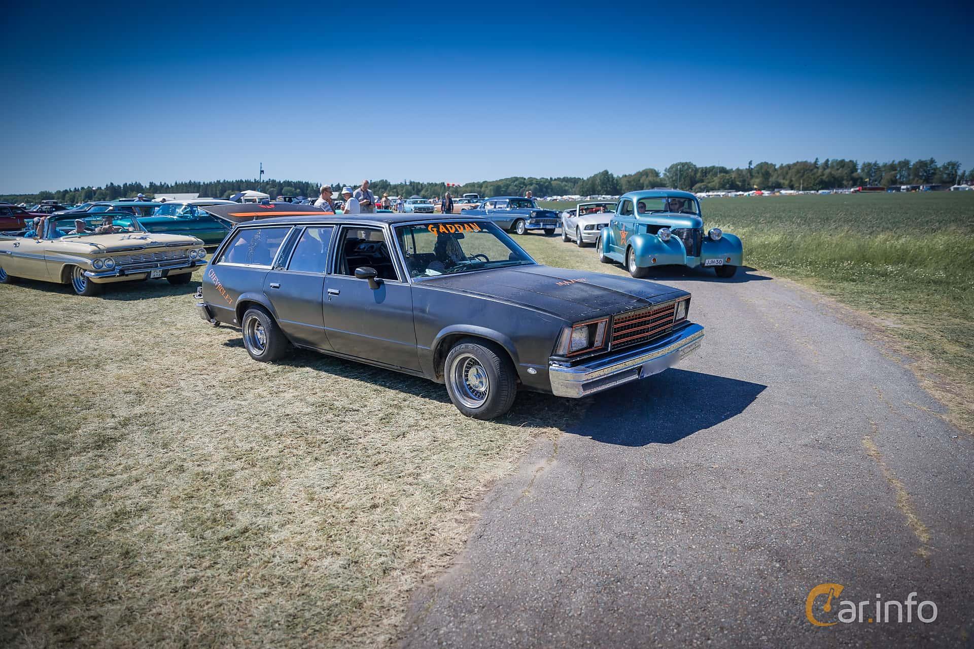Chevrolet Malibu Station Wagon 5.0 V8 Manual, 162hp, 1979 at Power Big Meet 2015