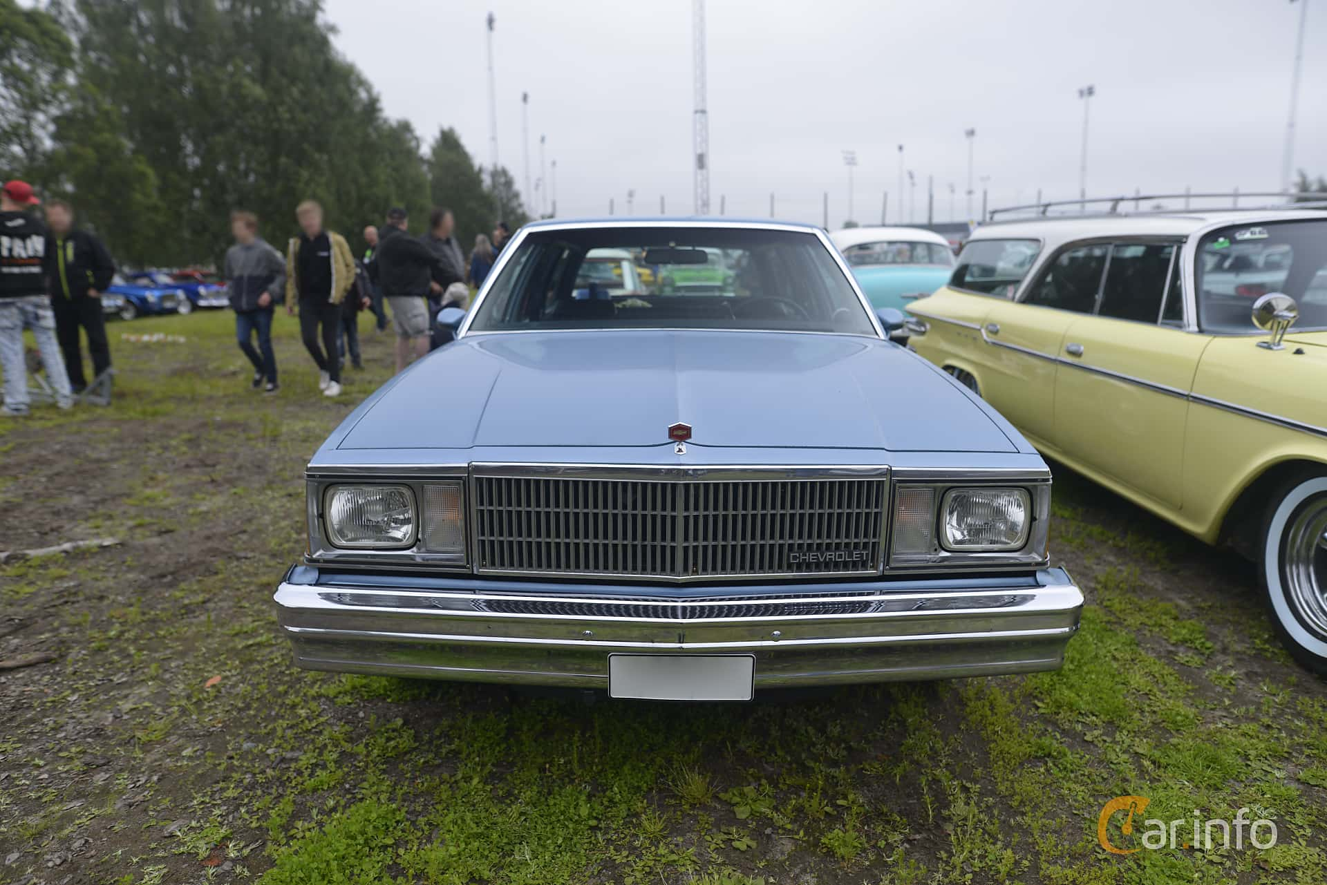 Chevrolet Malibu Station Wagon 3.8 V6 Automatic, 117hp, 1981 at Umeå Wheels Nations Norr 2016