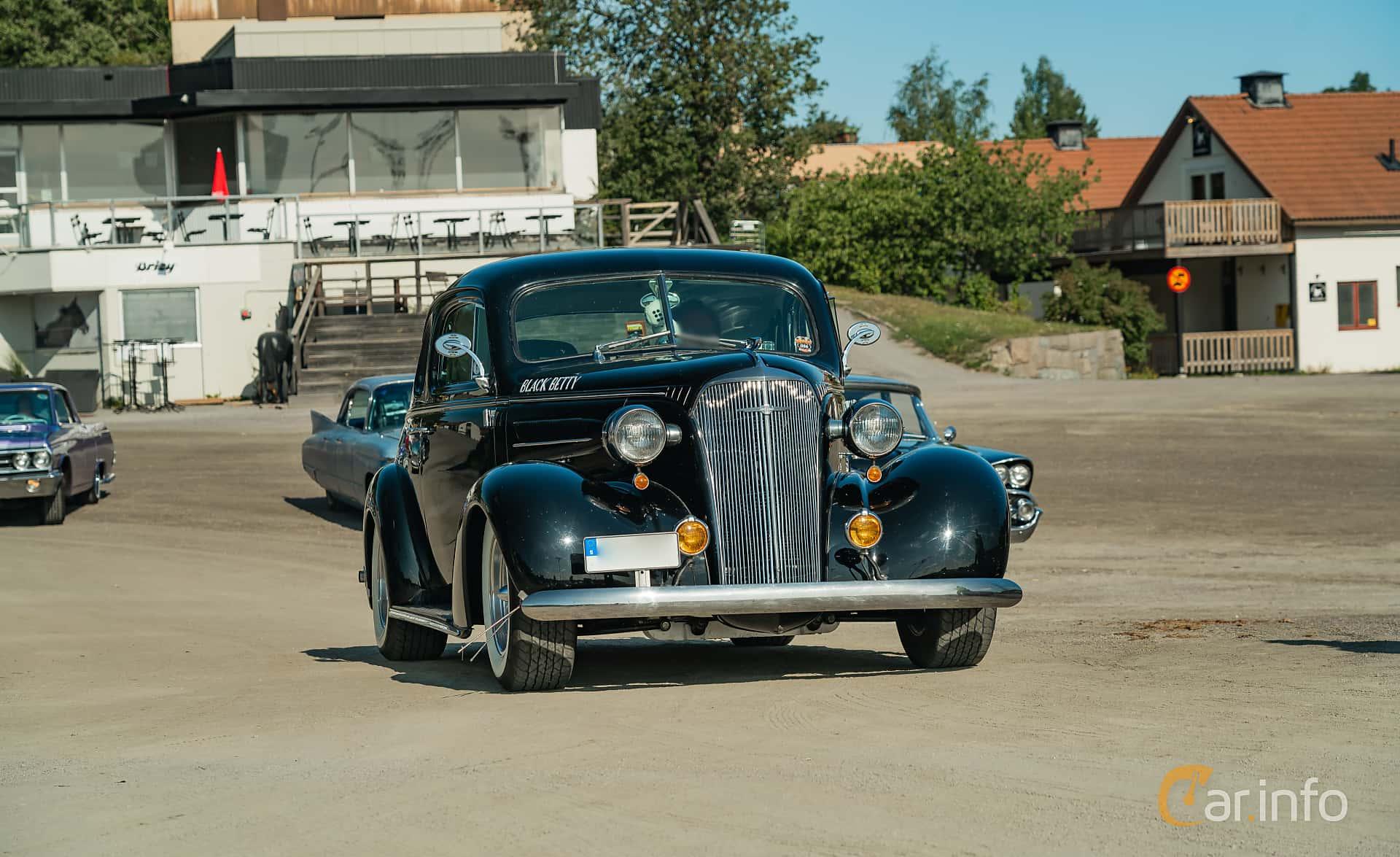 Chevrolet Master Coupé 3.5 Manual, 86hp, 1937 at Stockholm Vintage & Sports Car meet 2019