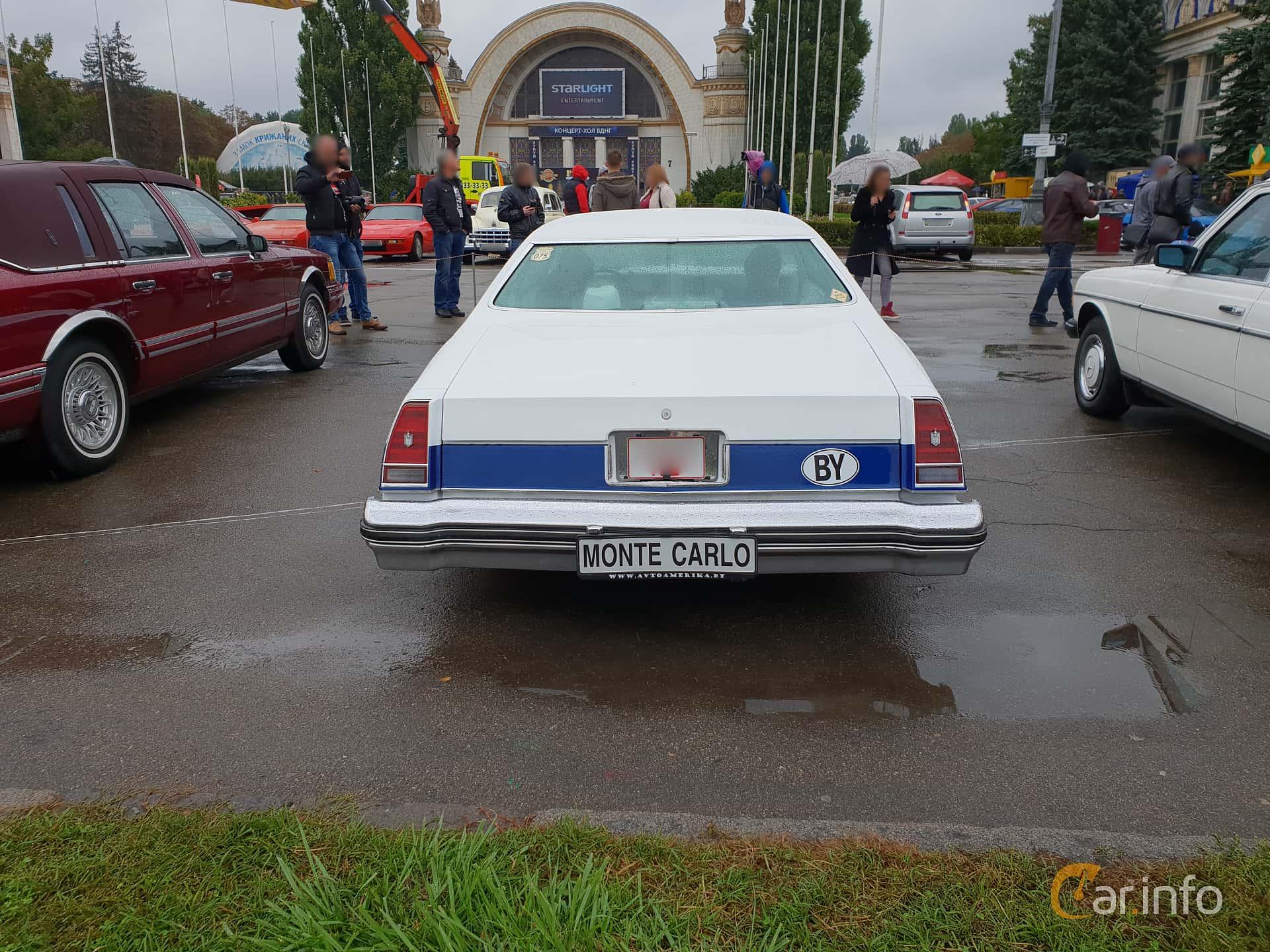 Chevrolet Monte Carlo 6.6 V8 Hydra-Matic, 177hp, 1975 at Old Car Land no.2 2018