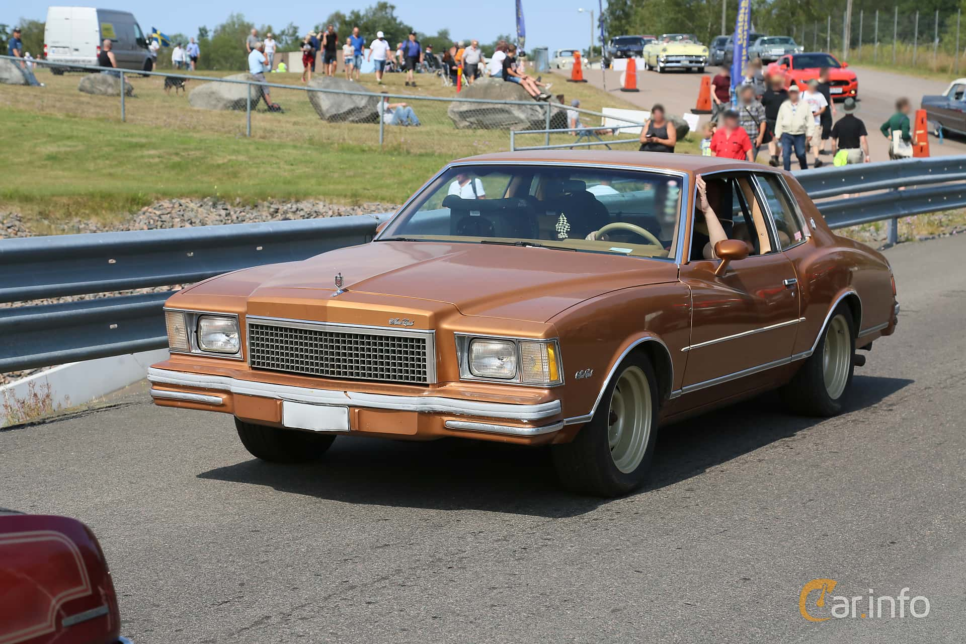 Chevrolet Monte Carlo 5.0 V8 Automatic, 147hp, 1978 at Wheels & Wings 2019