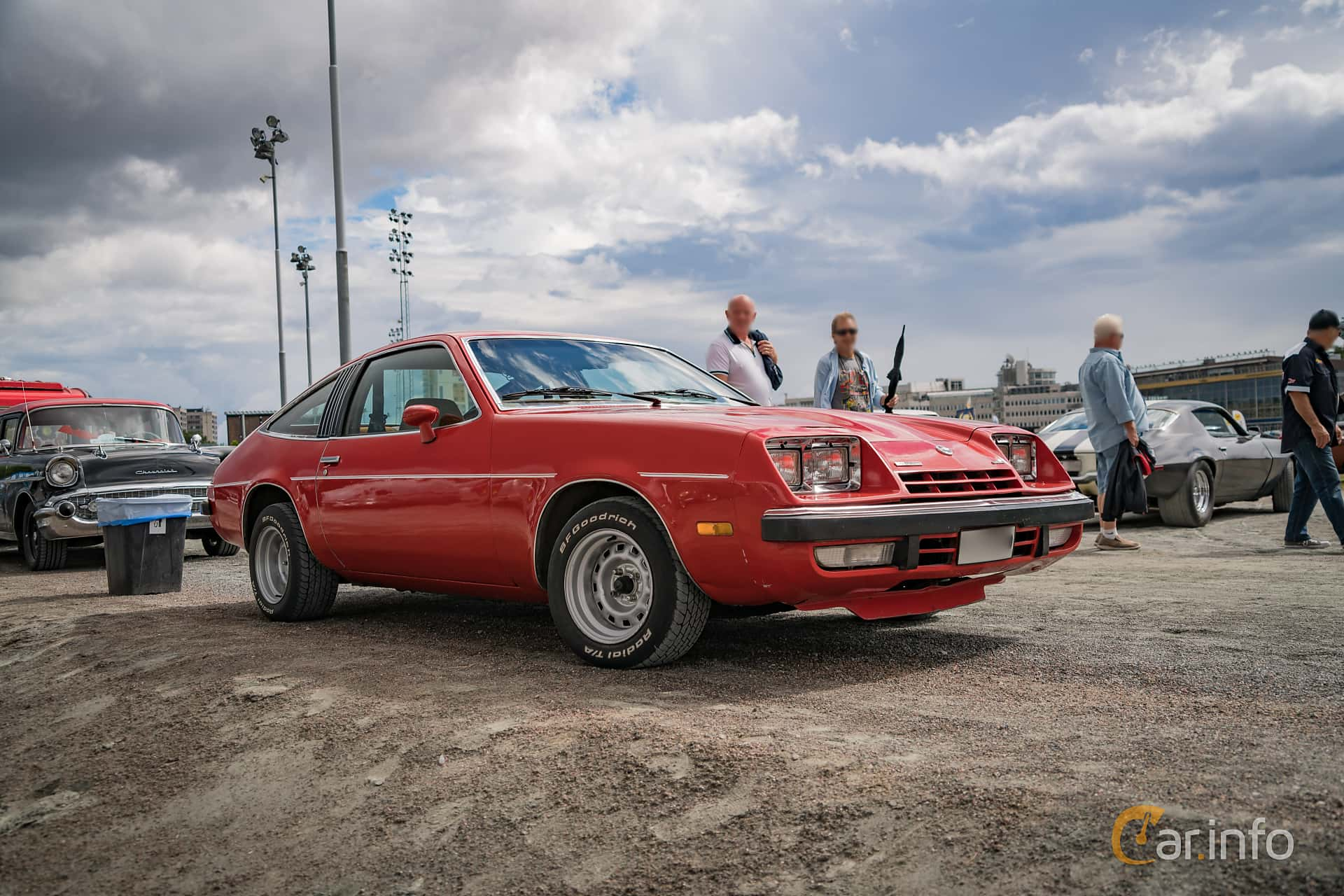 Chevrolet Monza Coupé 5.7 V8 Hydra-Matic, 126hp, 1975 at Wheels Nationals Stockholm 2017