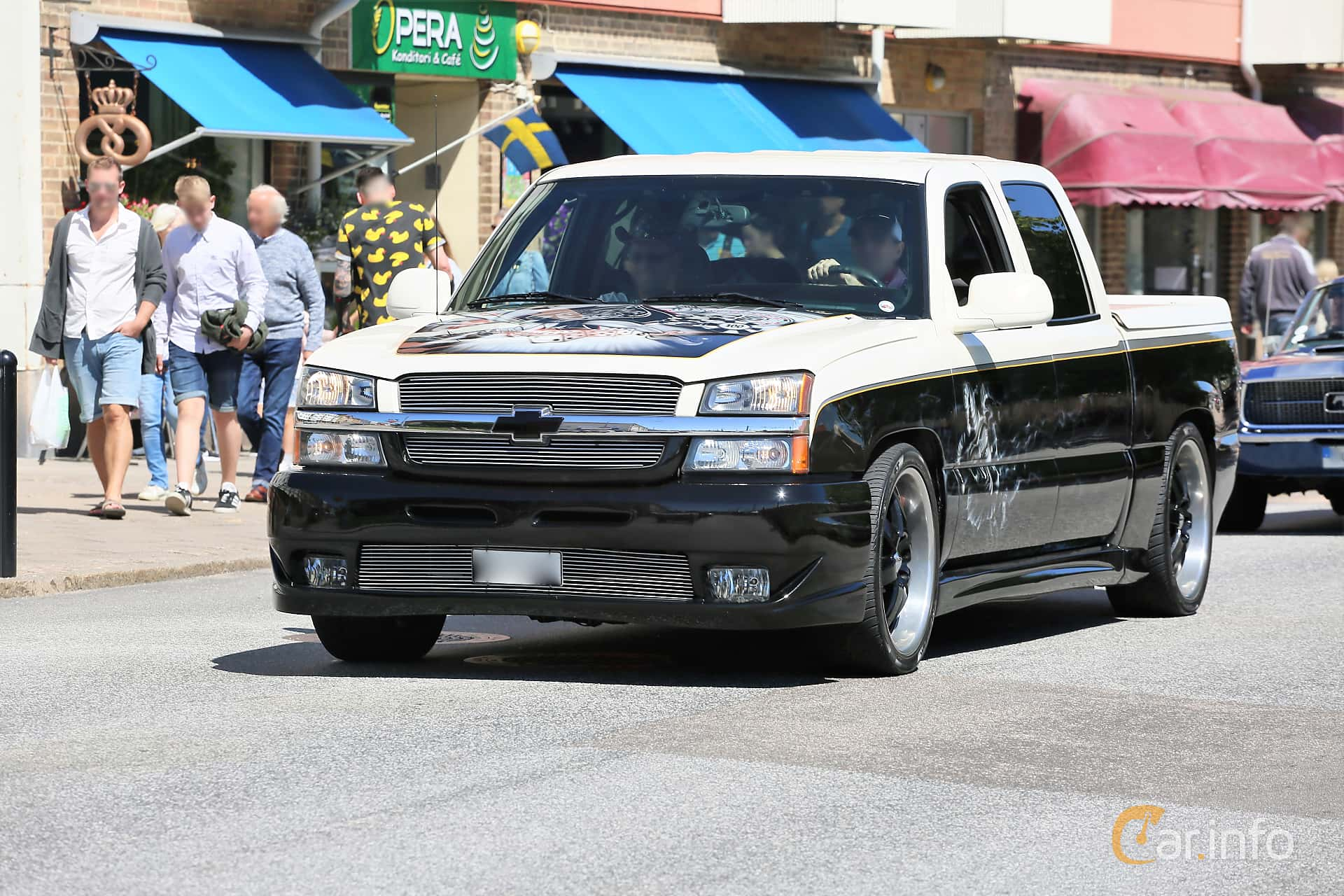 Chevrolet Silverado 1500 Crew Cab 5.3 V8 Hydra-Matic, 299hp, 2005 at Cruising Lysekil 2019