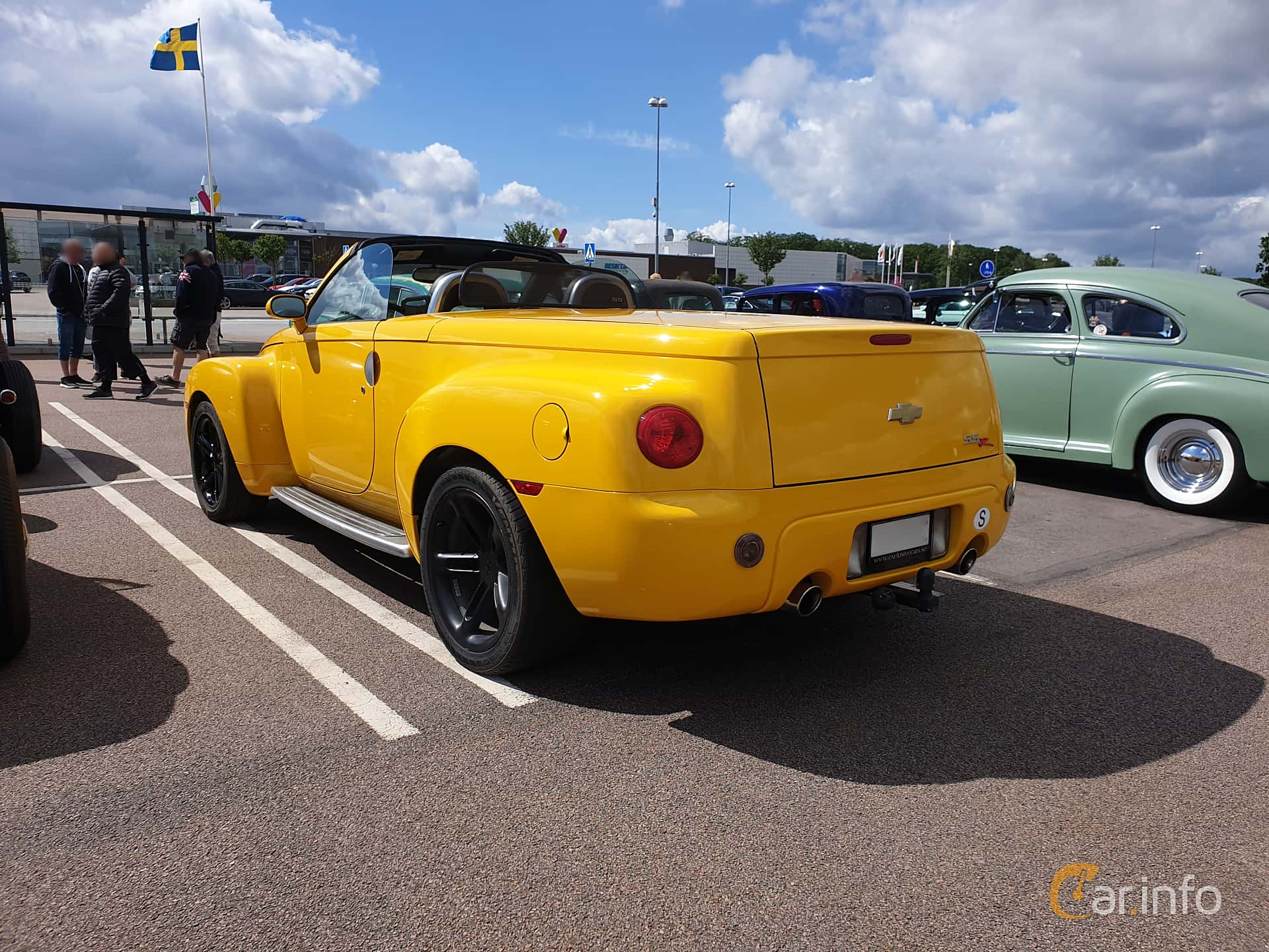 Chevrolet SSR Convertible 6.0 V8 Automatic, 390hp, 2005