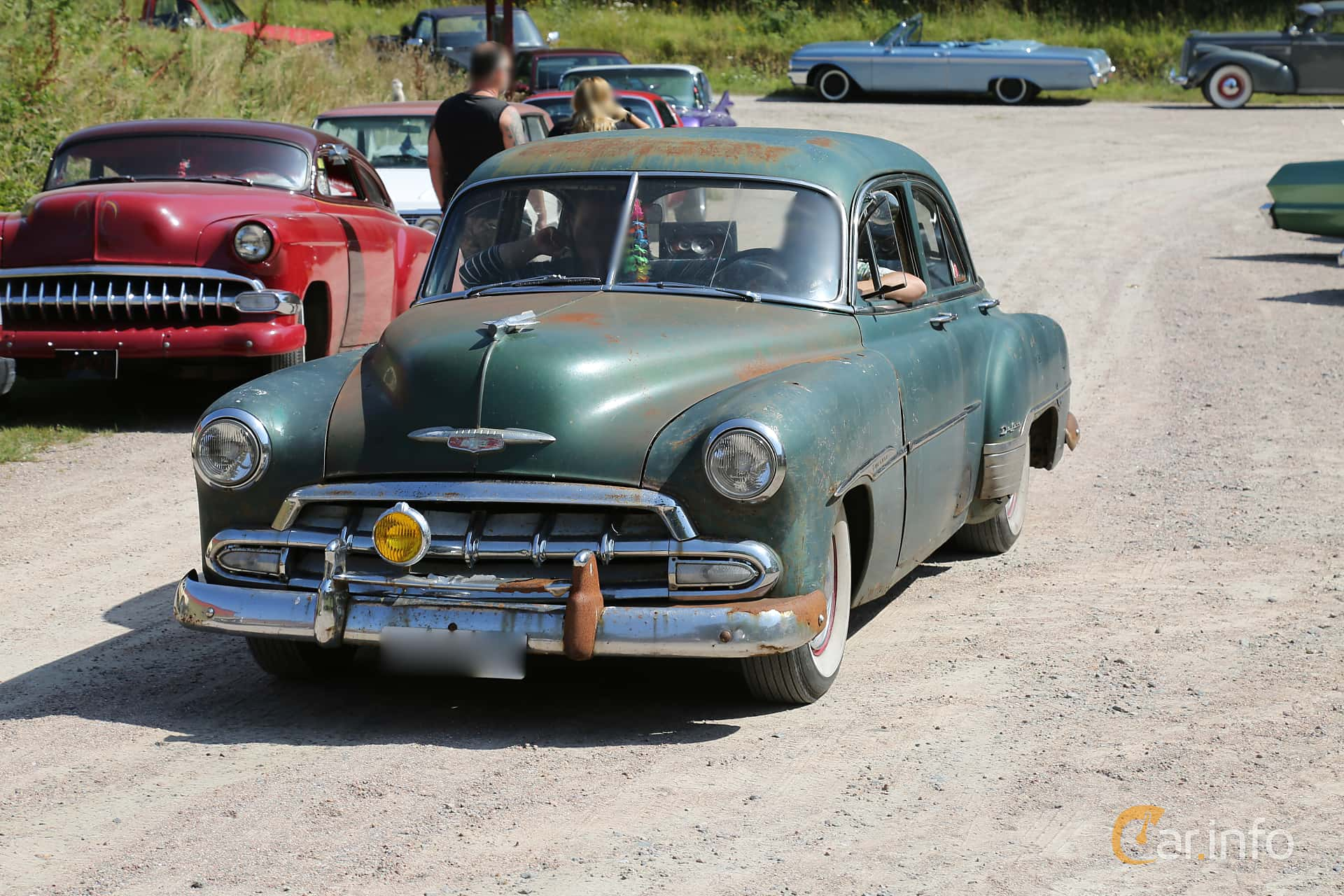 Chevrolet Styleline Deluxe 4-door Sedan 1952 at A-bombers - Old Style Weekend Backamo 2019