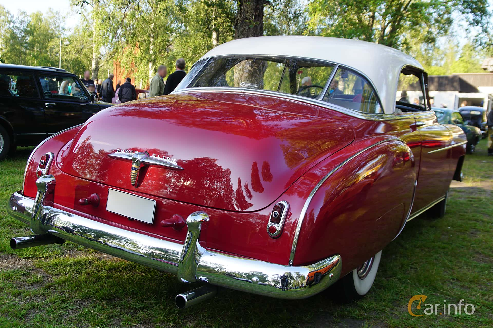 Chevrolet Styleline Deluxe Bel Air Coupé 3.9 Powerglide, 106hp, 1950 at Onsdagsträffar på Gammlia Umeå 2019 vecka 28