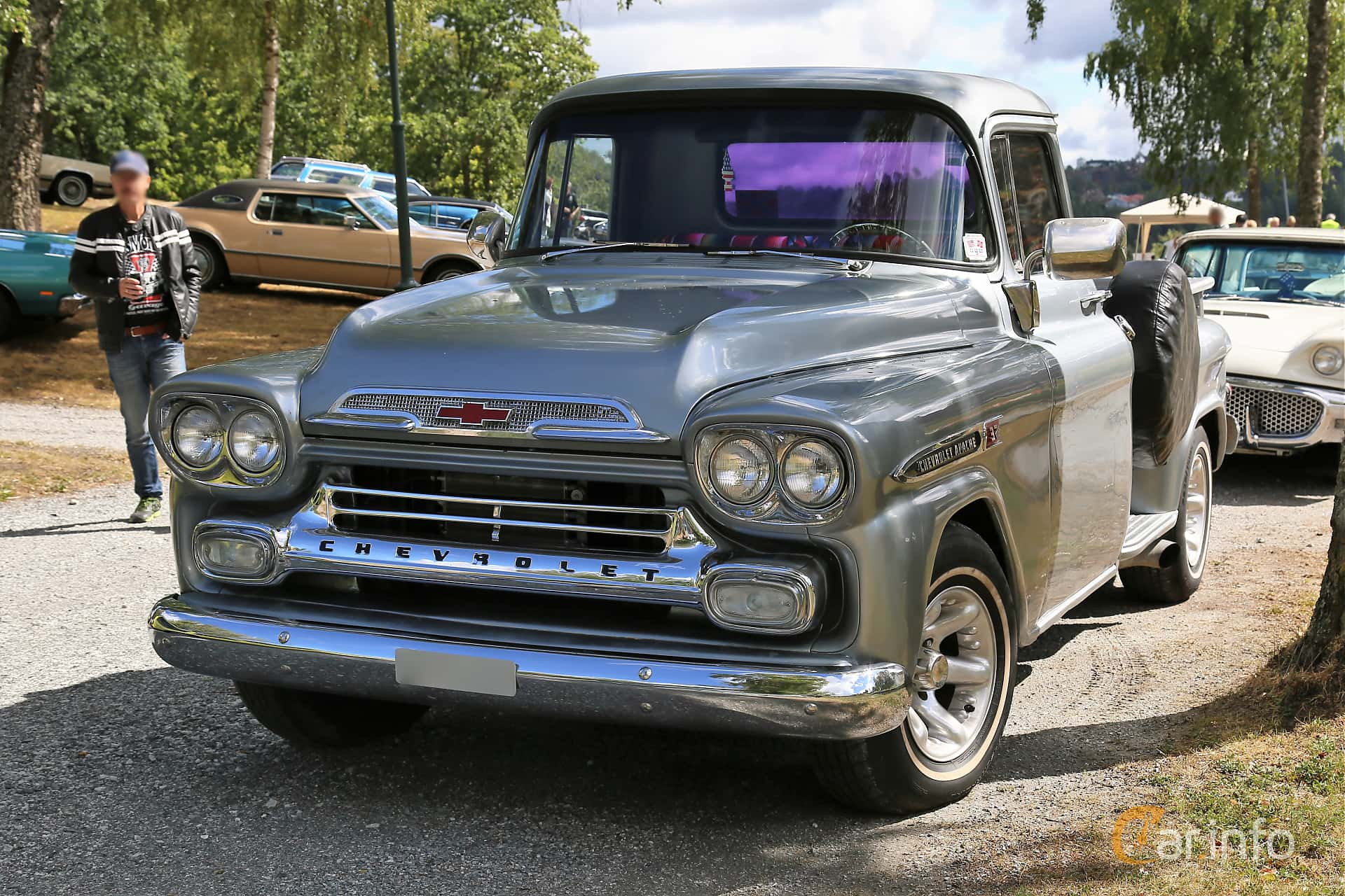 Chevrolet Apache 31/32 3.9 137hp, 1959