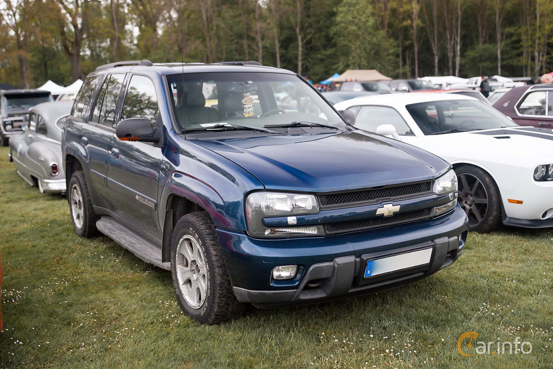 Chevrolet TrailBlazer 4.2 4WD Hydra-Matic, 273hp, 2002 at Hässleholm Power Start of Summer Meet 2015