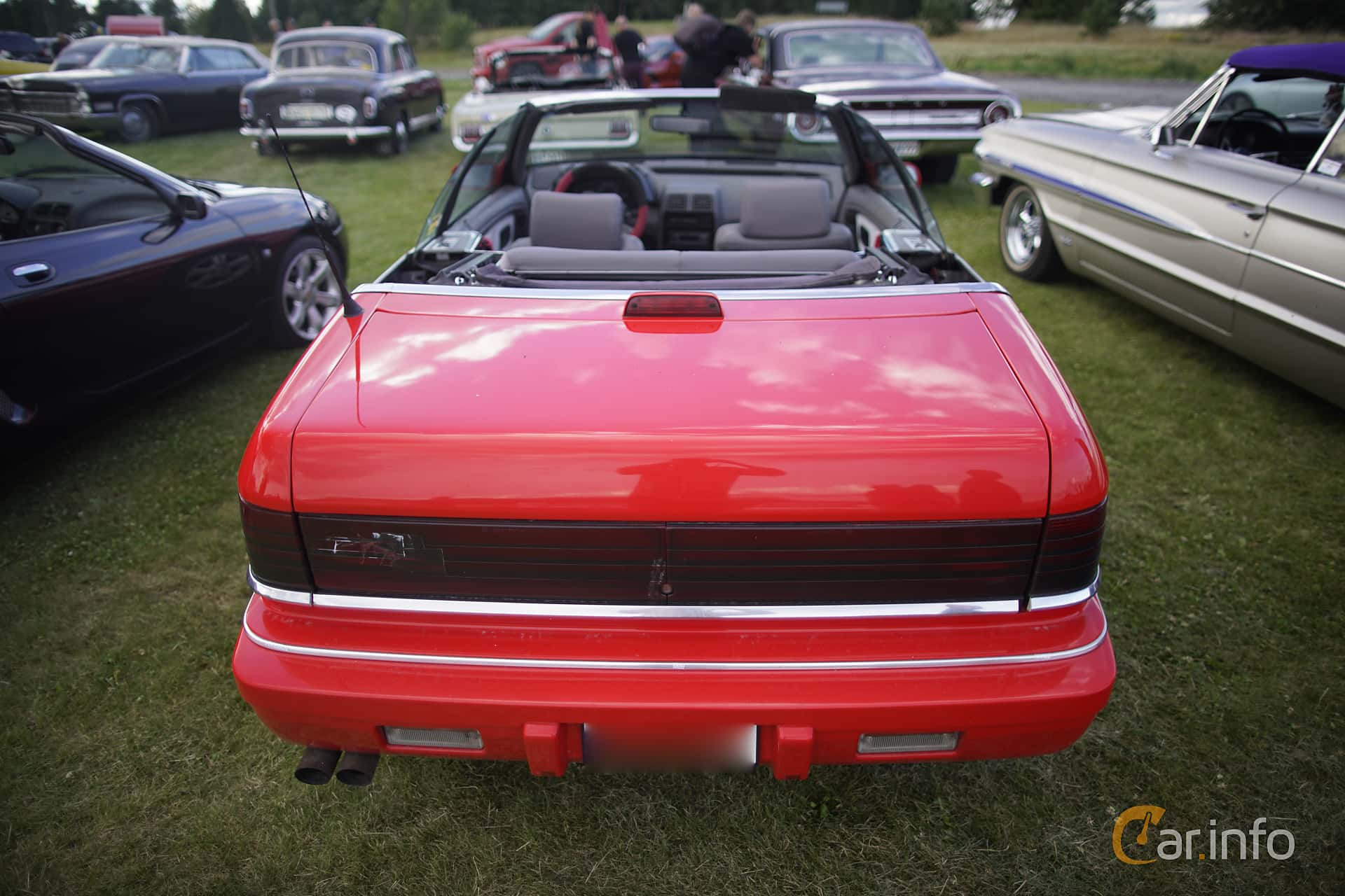 3 images of chrysler lebaron convertible 30 v6 automatic 143hp back of chrysler lebaron convertible 30 v6 automatic 143ps 1991 at motortrffar p nifsta sciox Image collections