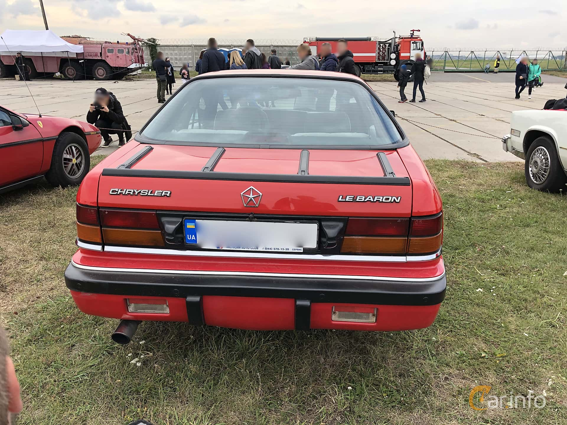 Chrysler LeBaron GTC Coupé 2.2 Manual, 177hp, 1989 at Old Car Land no.2 2019