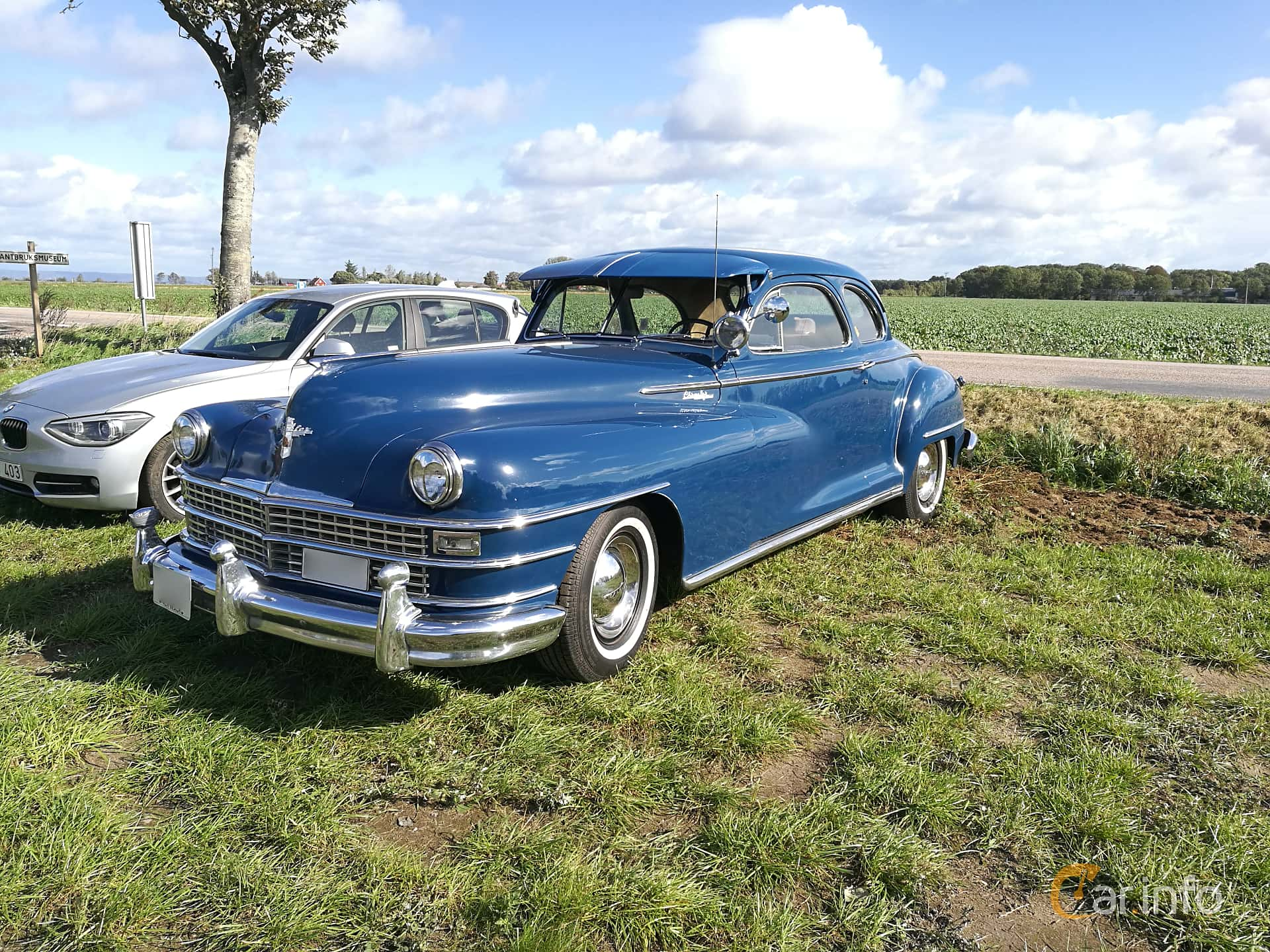 Chrysler New Yorker Club Coupé 5.3 Semi-Automatisk, 137hk, 1947