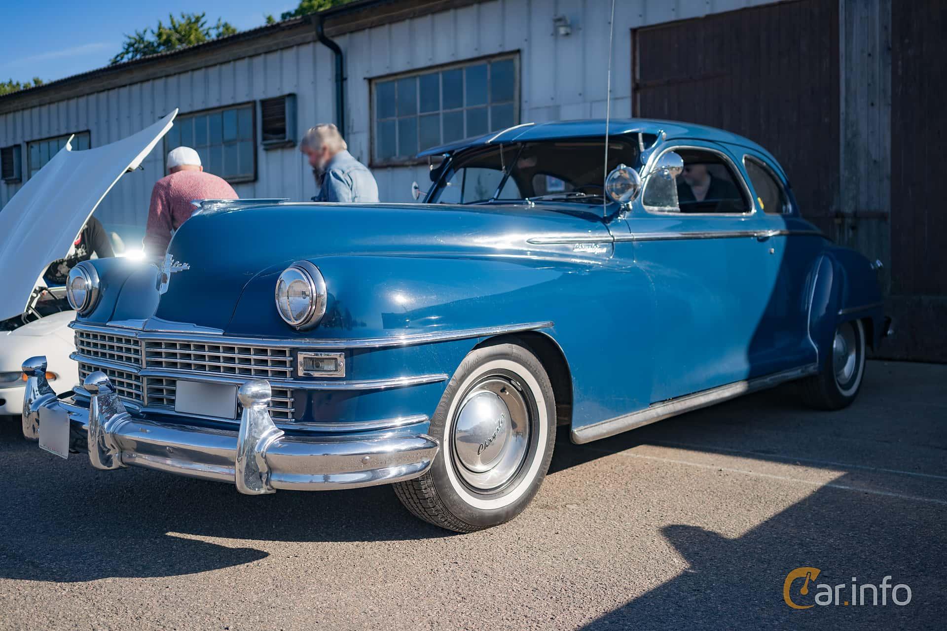 Chrysler New Yorker Club Coupé 5.3 Semi-Automatic, 137hp, 1947 at Onsdagsträffar i Höganäs (Juli 2017)