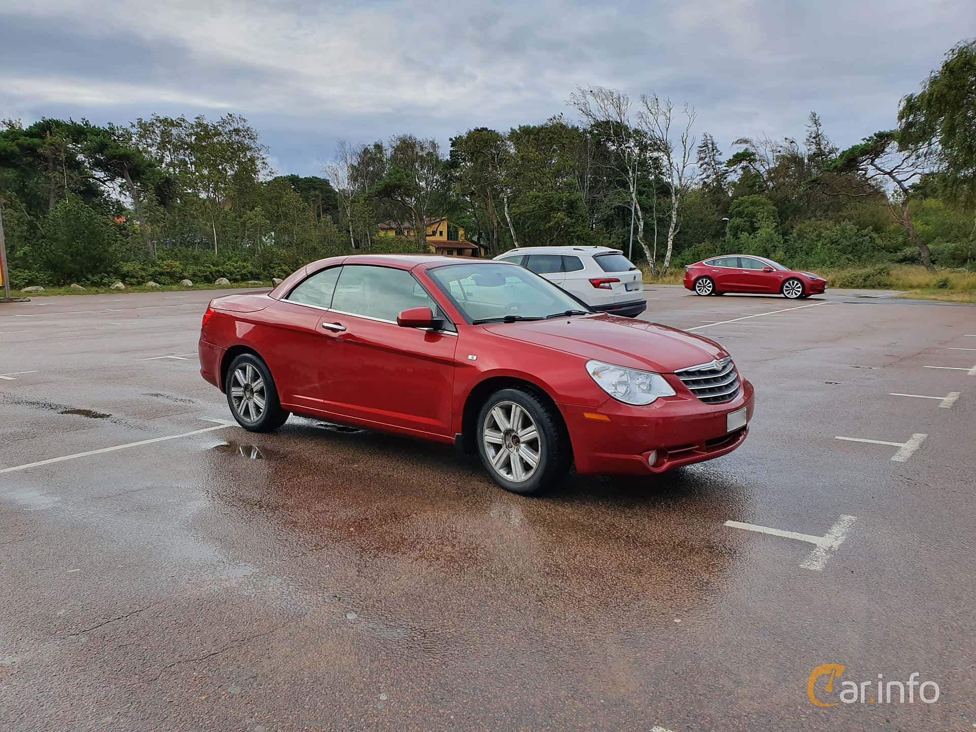 Fram/Sida av Chrysler Sebring Convertible 3.5 Automatic, 238ps, 2010