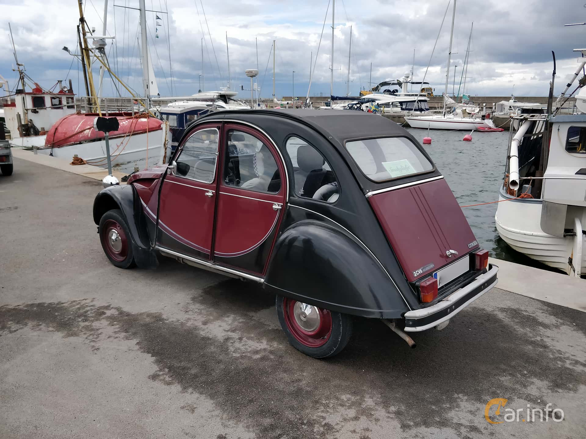 Citroën 2CV 0.6 Manual, 29hp, 1989