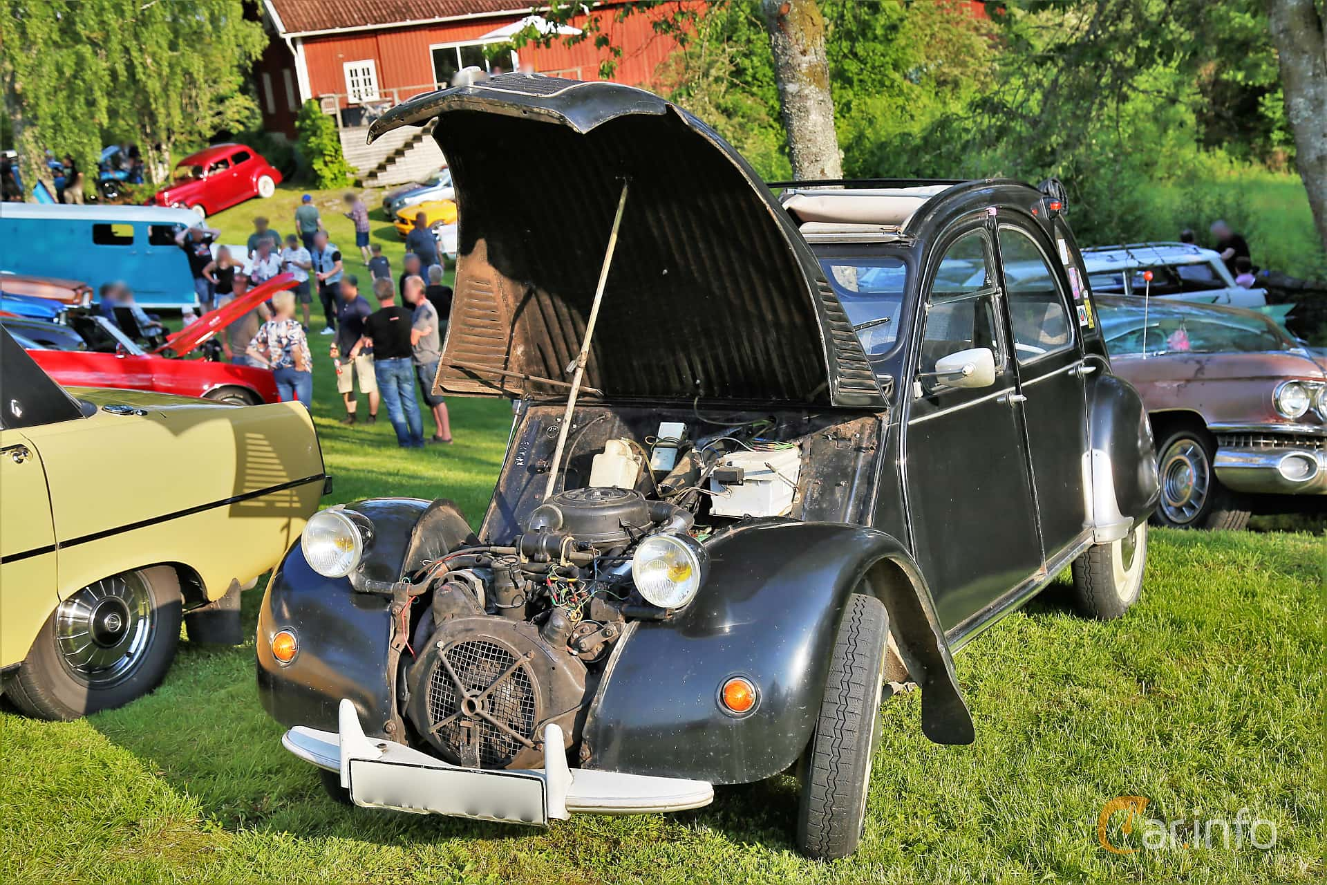 Citroën 2CV 0.6 Manual, 22hp, 1967 at GMHK Bilträff hos Mellanders 2019