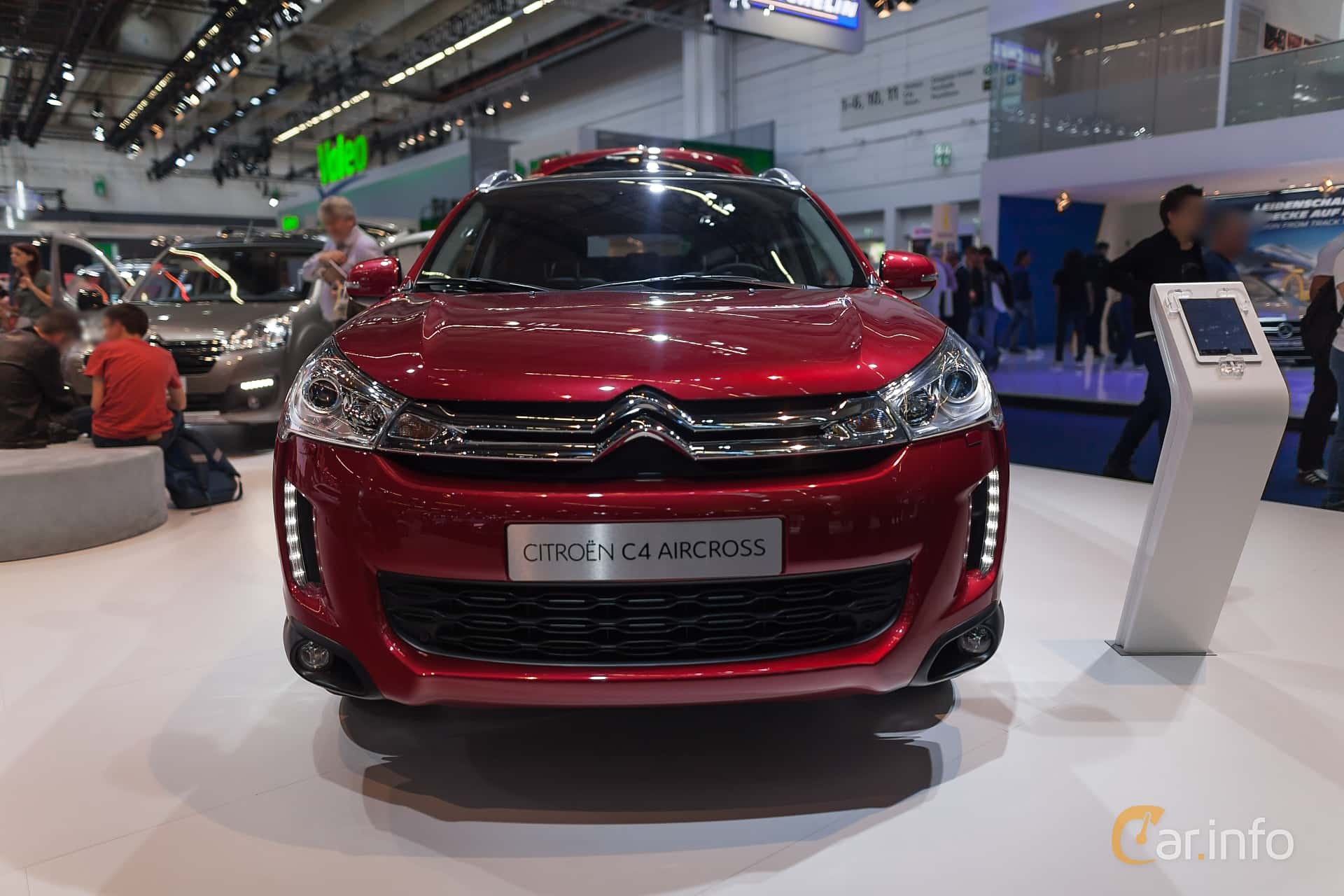 citro n c4 aircross 1 6 4wd manual 114hp 2016 at iaa 2015. Black Bedroom Furniture Sets. Home Design Ideas