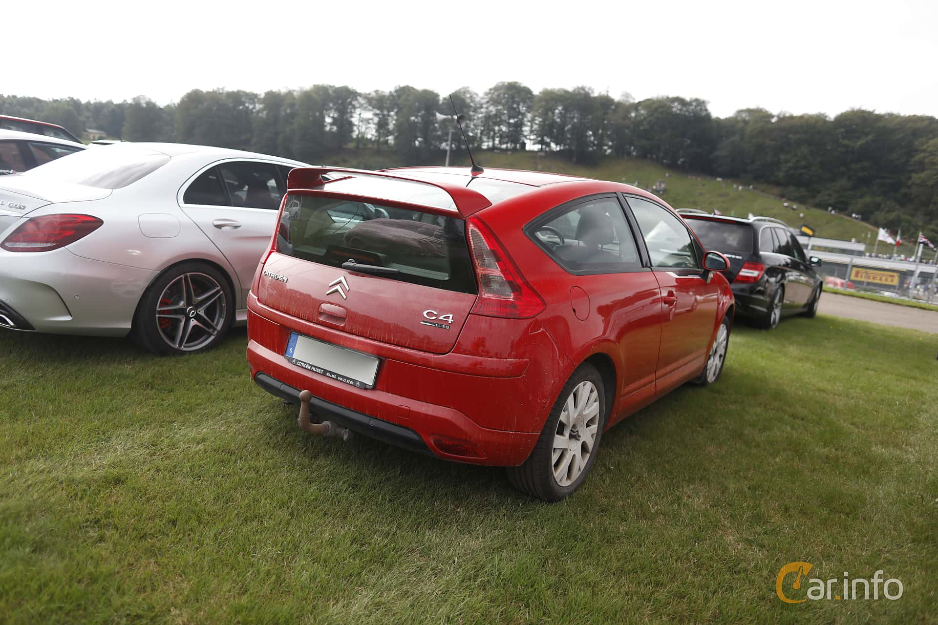 Citroën C4 Coupe 2.0 Manual, 140hp, 2007 at Autoropa Racing day Knutstorp 2019