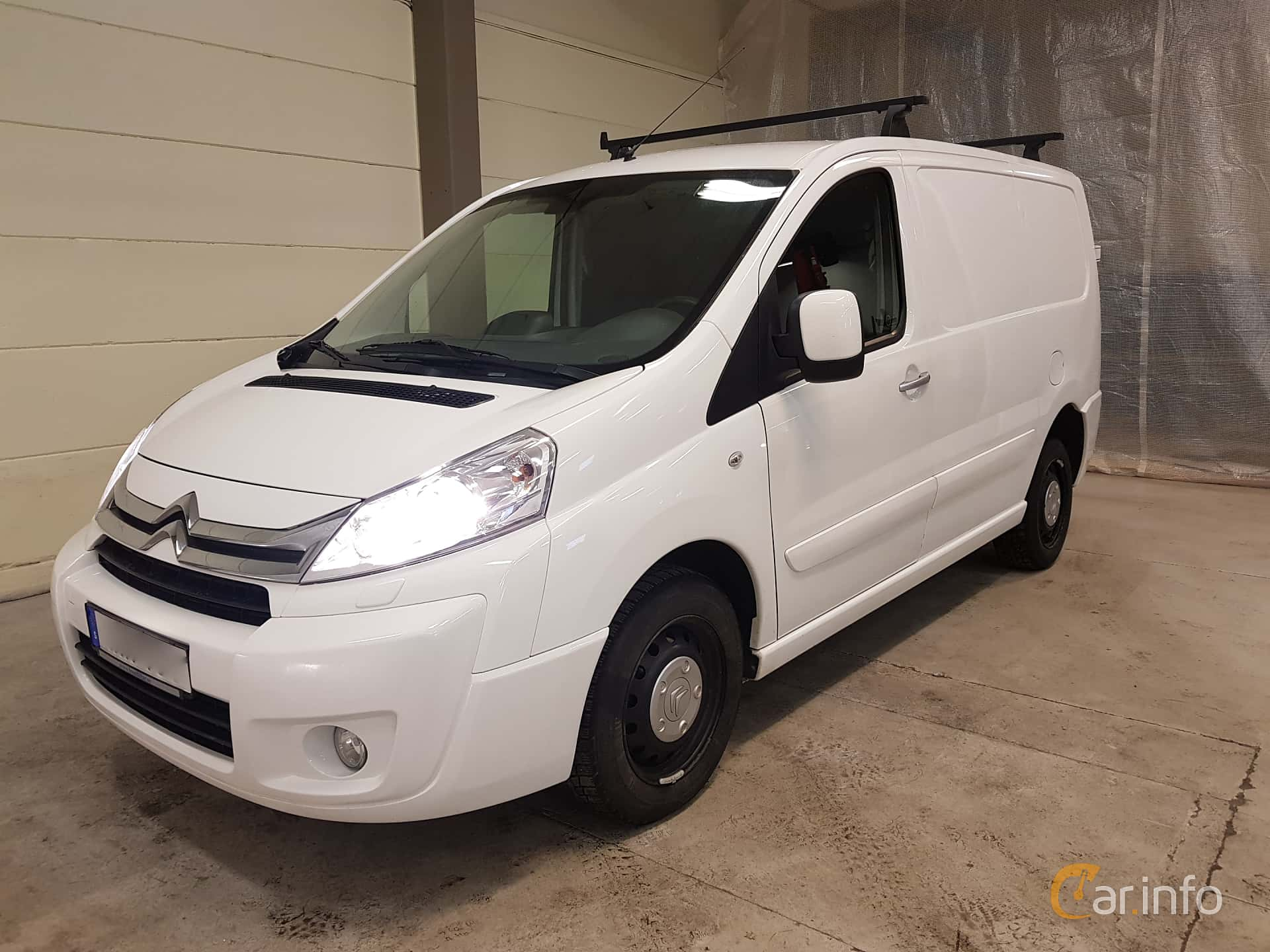 Citroën Jumpy Van 2.0 HDi Automatic, 163hp, 2015