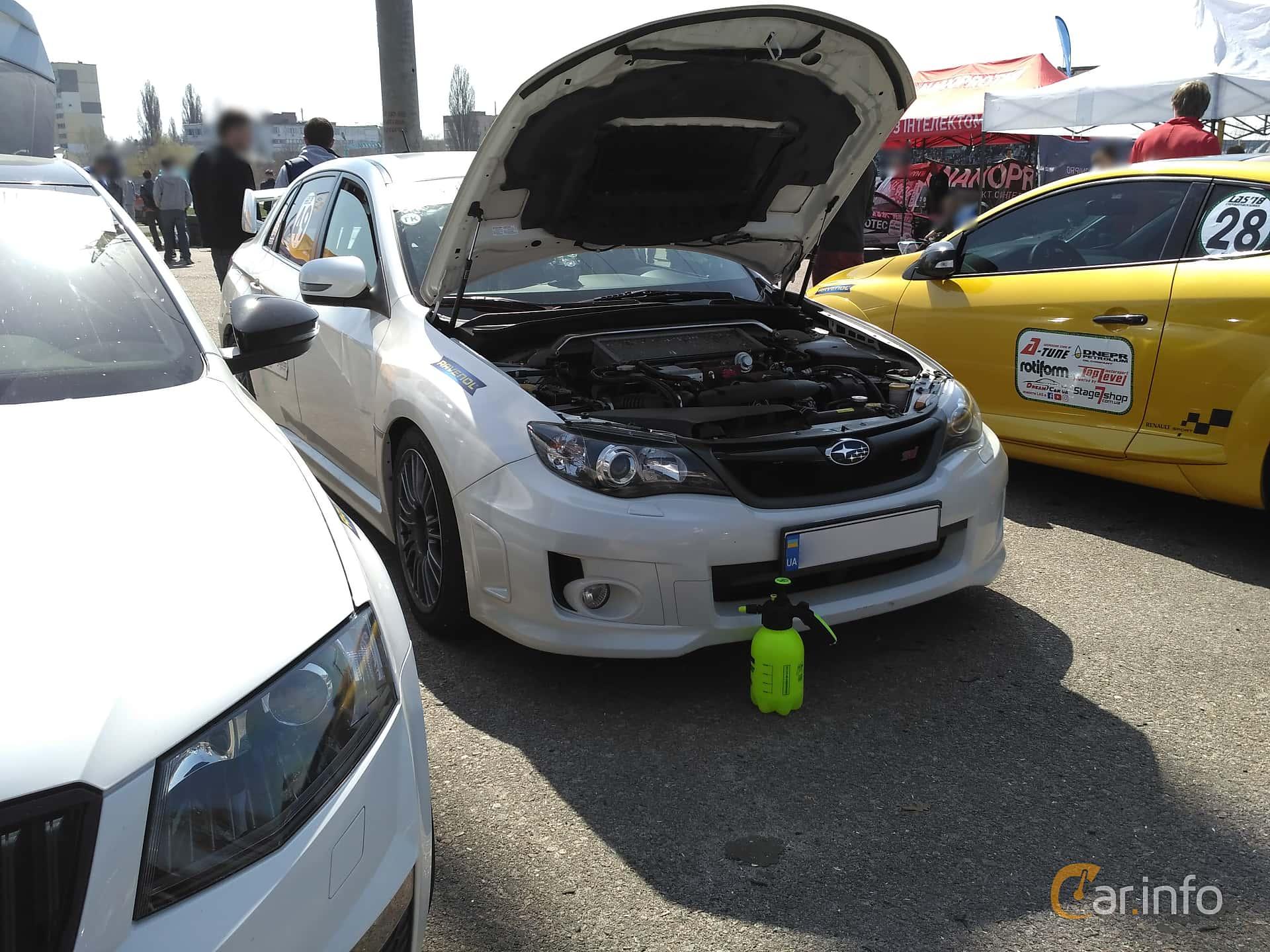 Subaru WRX STi Sedan 2.5 4WD Manual, 300hp, 2007 at Ltava Time Attack 1st Stage