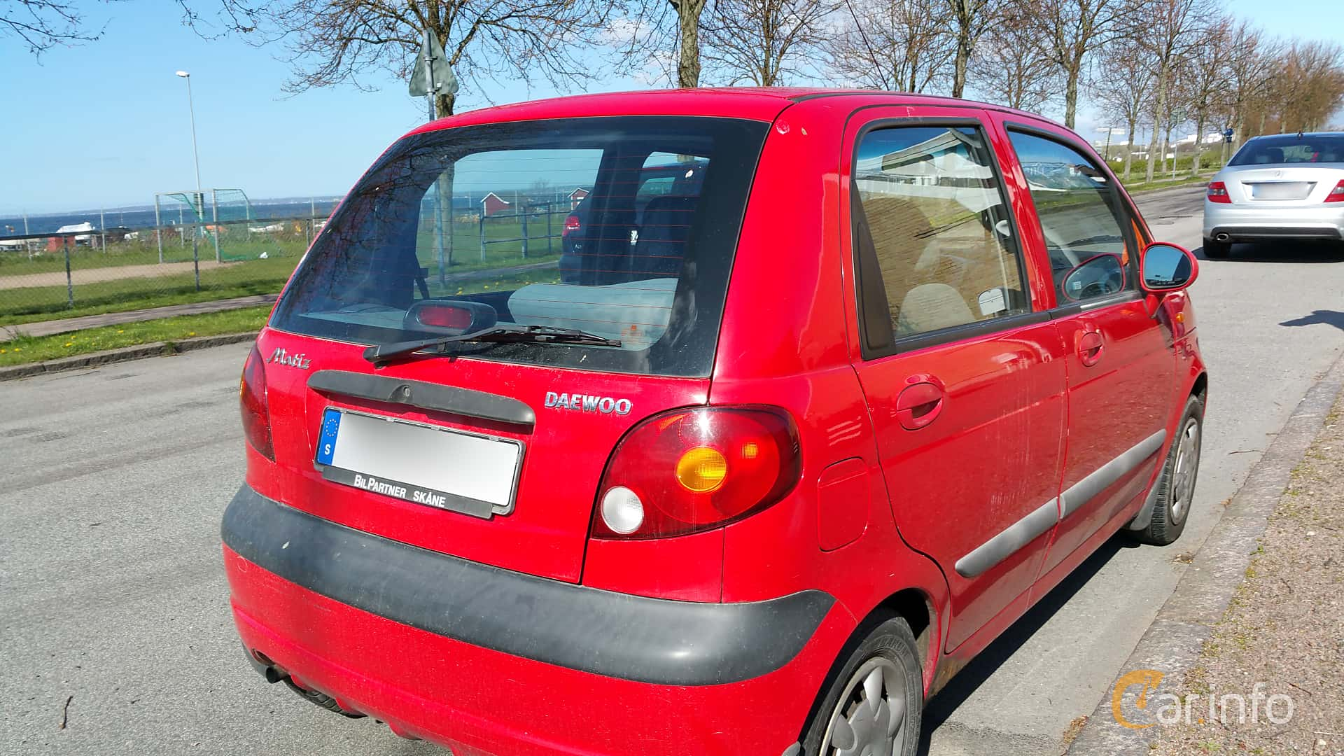 2 Images Of Daewoo Matiz 10 Manual 64hp 2004 By Jarbo Back Side 64ps